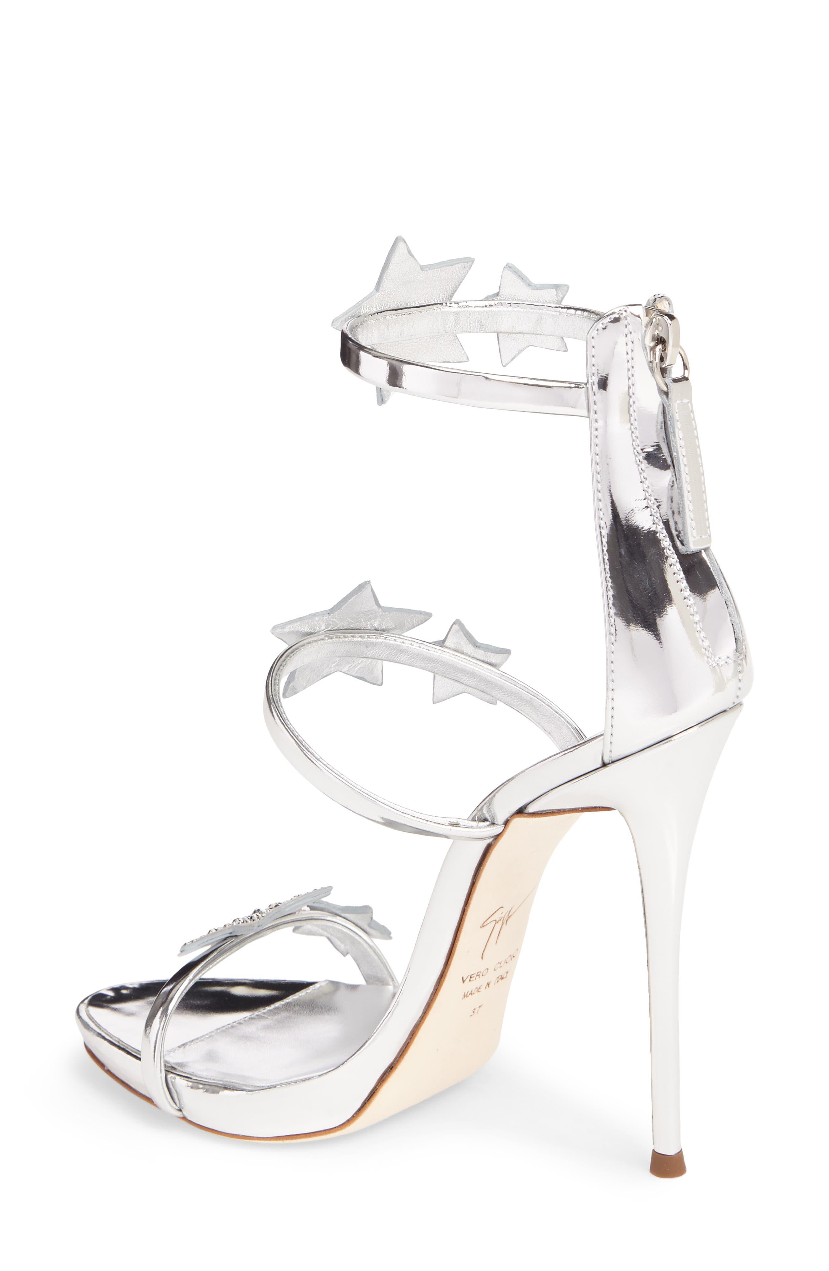 Alternate Image 2  - Giuseppe Zanotti Coline Embellished Star Strap Sandal (Women)