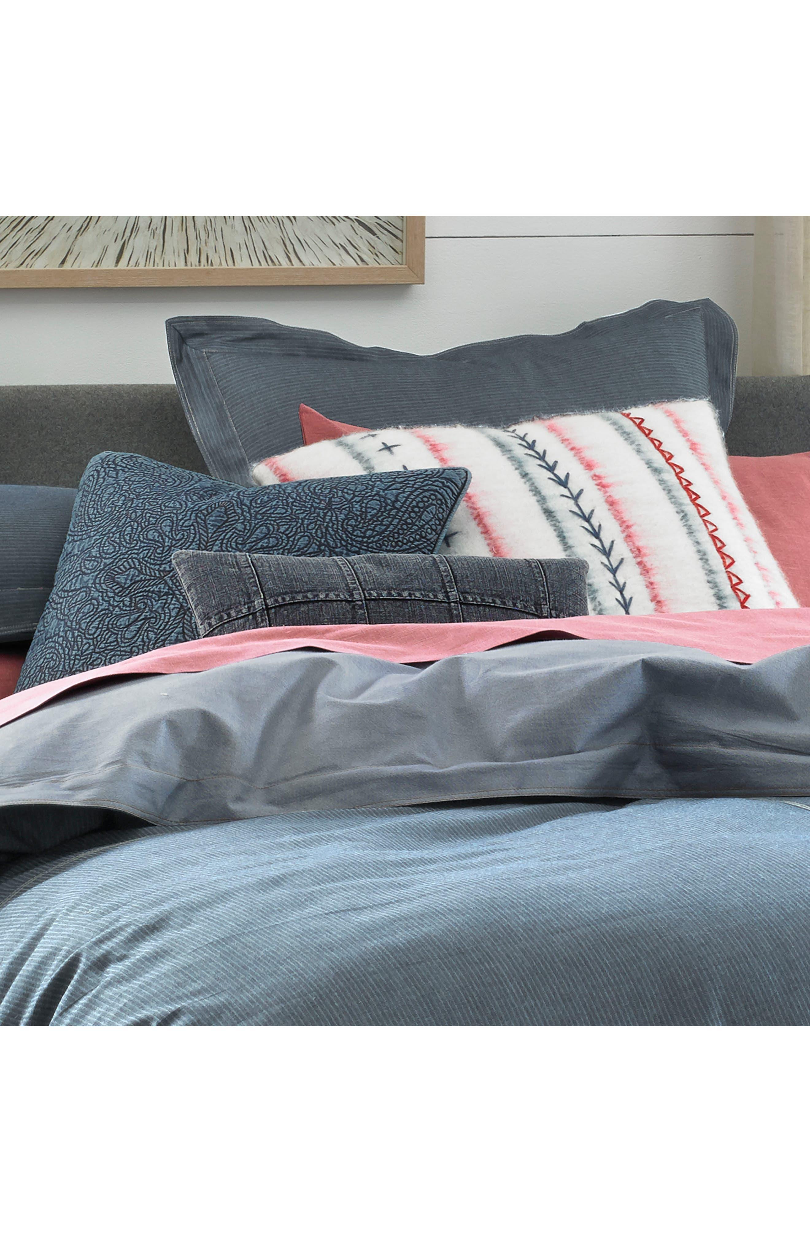Sunkissed Denim Comforter & Sham Set,                             Alternate thumbnail 3, color,                             Blue