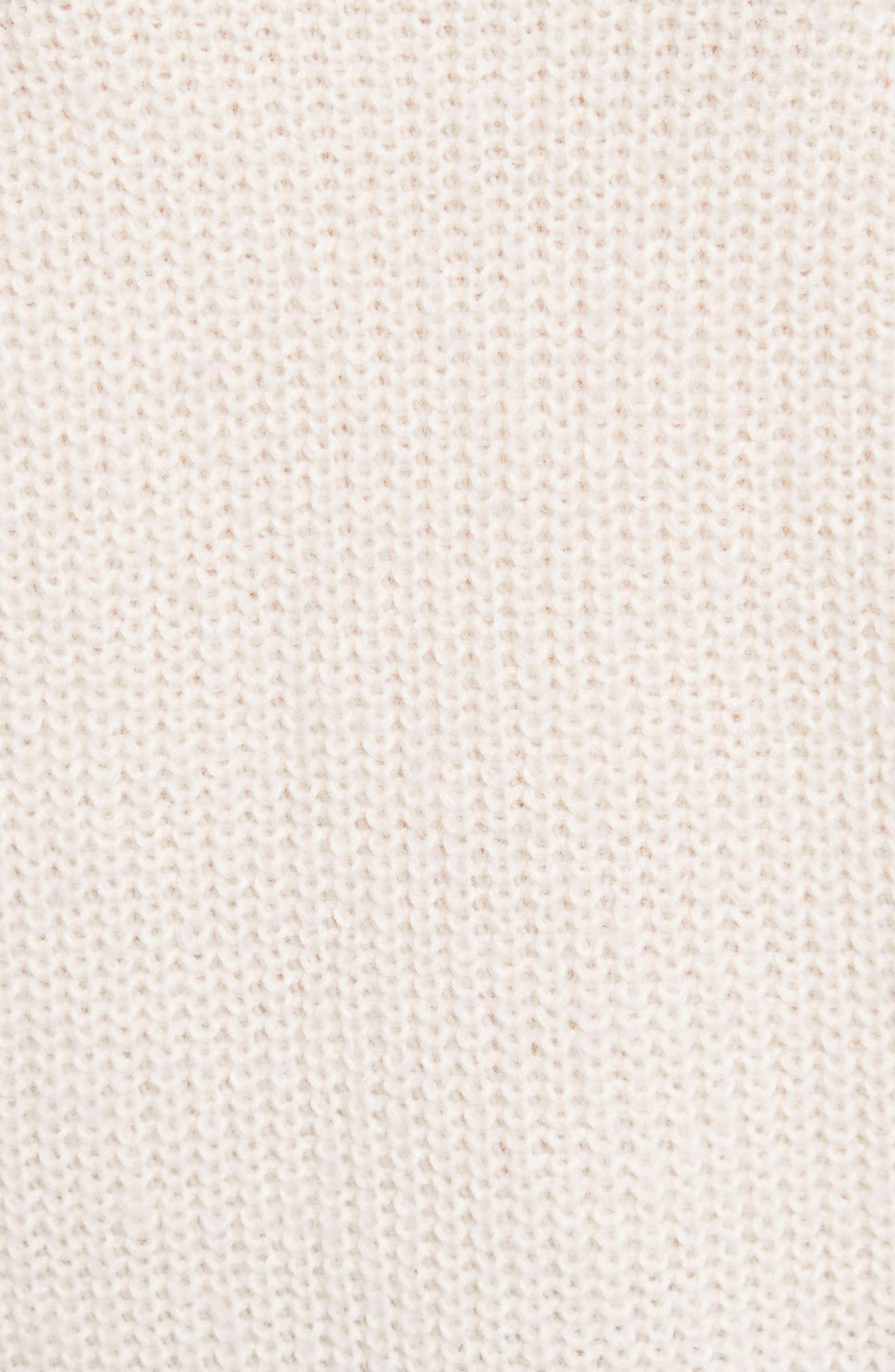 Aine Sweater,                             Alternate thumbnail 5, color,                             Porcelain