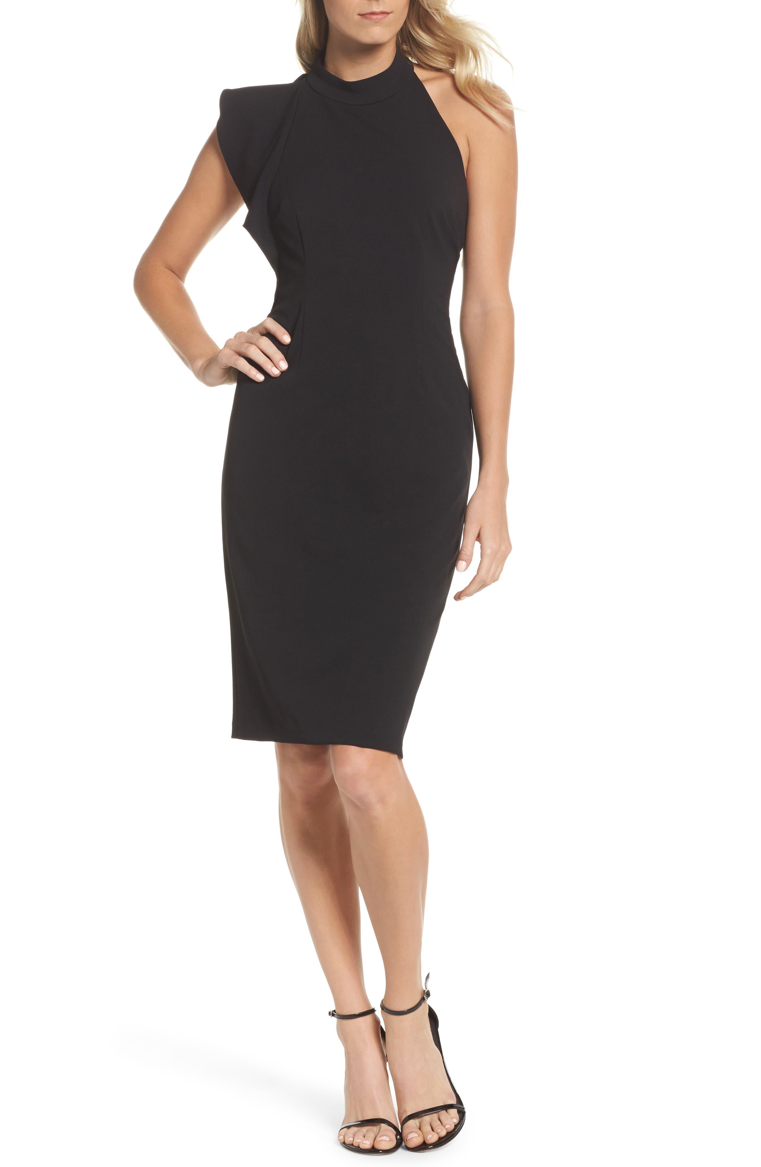 Fashion Long Black Dress