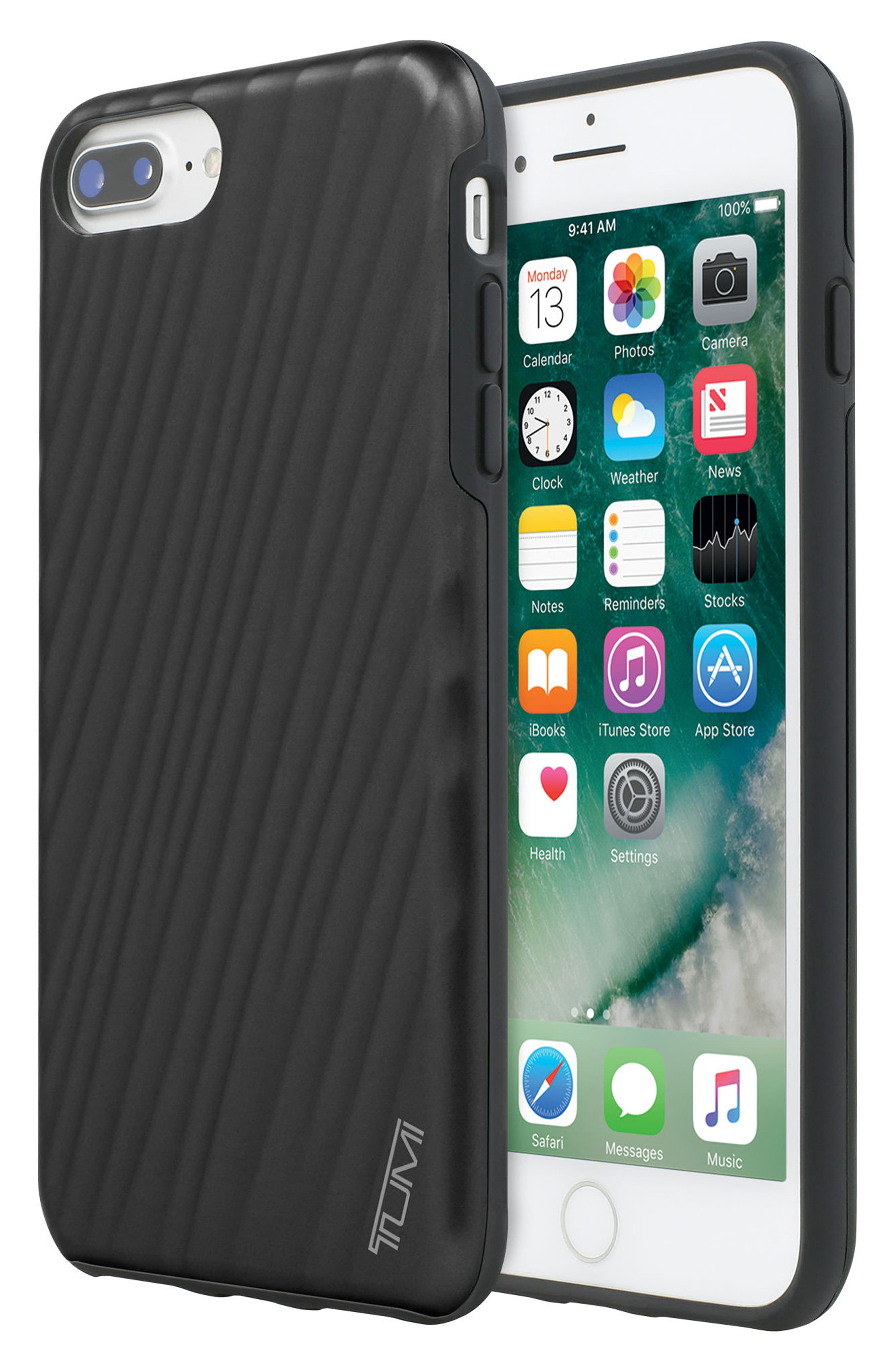 19 Degree iPhone 8 Plus Case,                             Alternate thumbnail 6, color,                             Matte Black