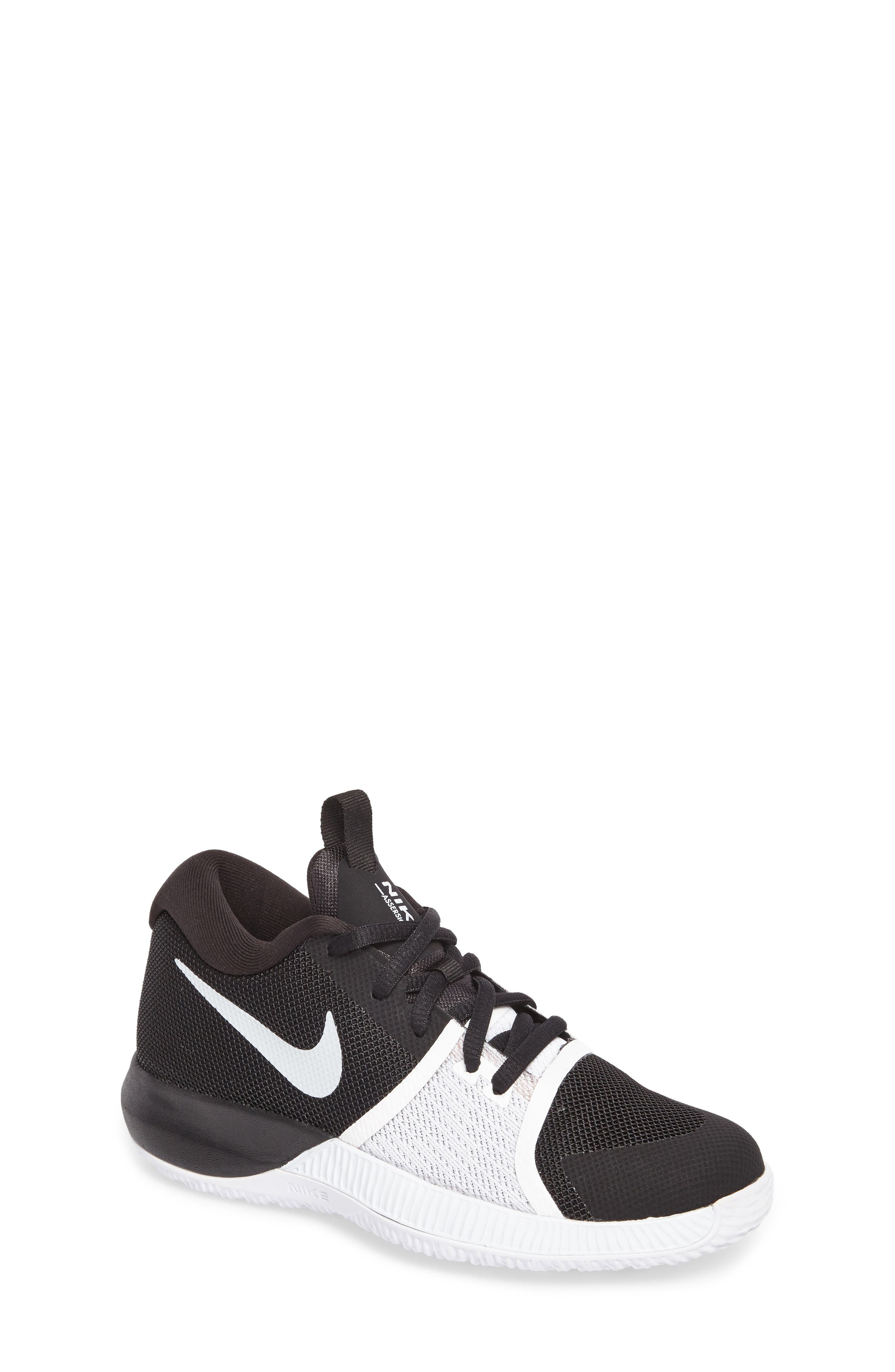 Assersion Sneaker,                         Main,                         color, Black/ White