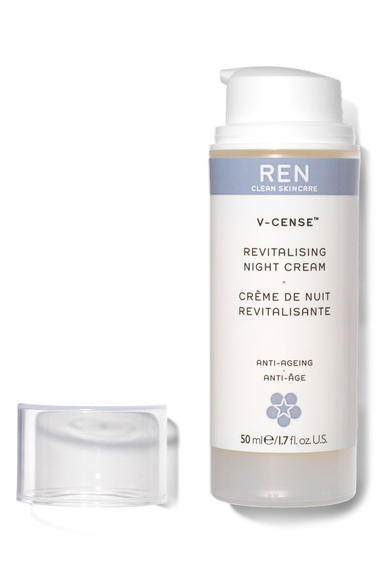 SPACE.NK.apothecary REN V-Cense<sup>™</sup> Revitalizing Night Cream,                             Alternate thumbnail 3, color,                             No Color