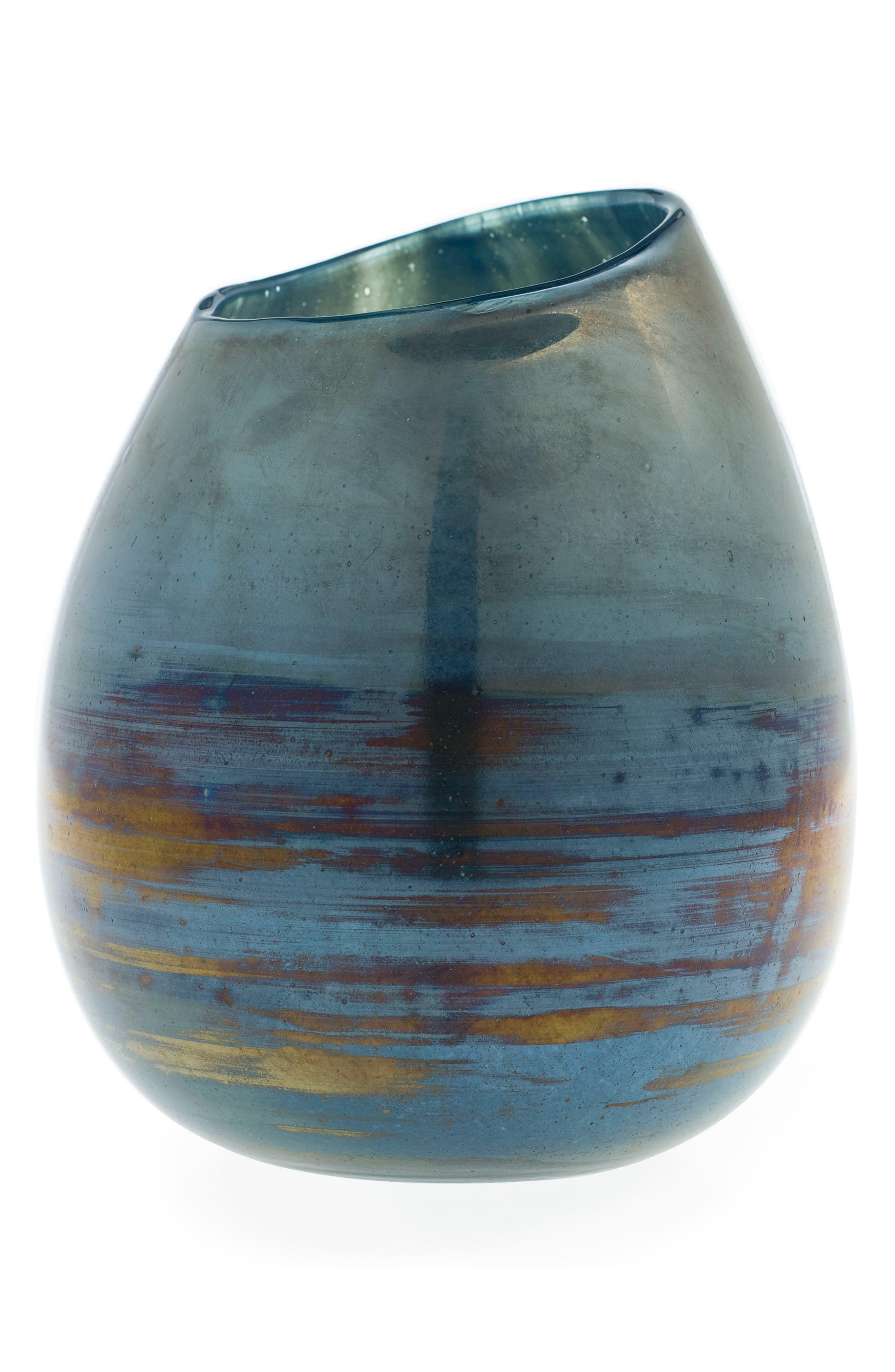 Sable Vase,                         Main,                         color, Blue