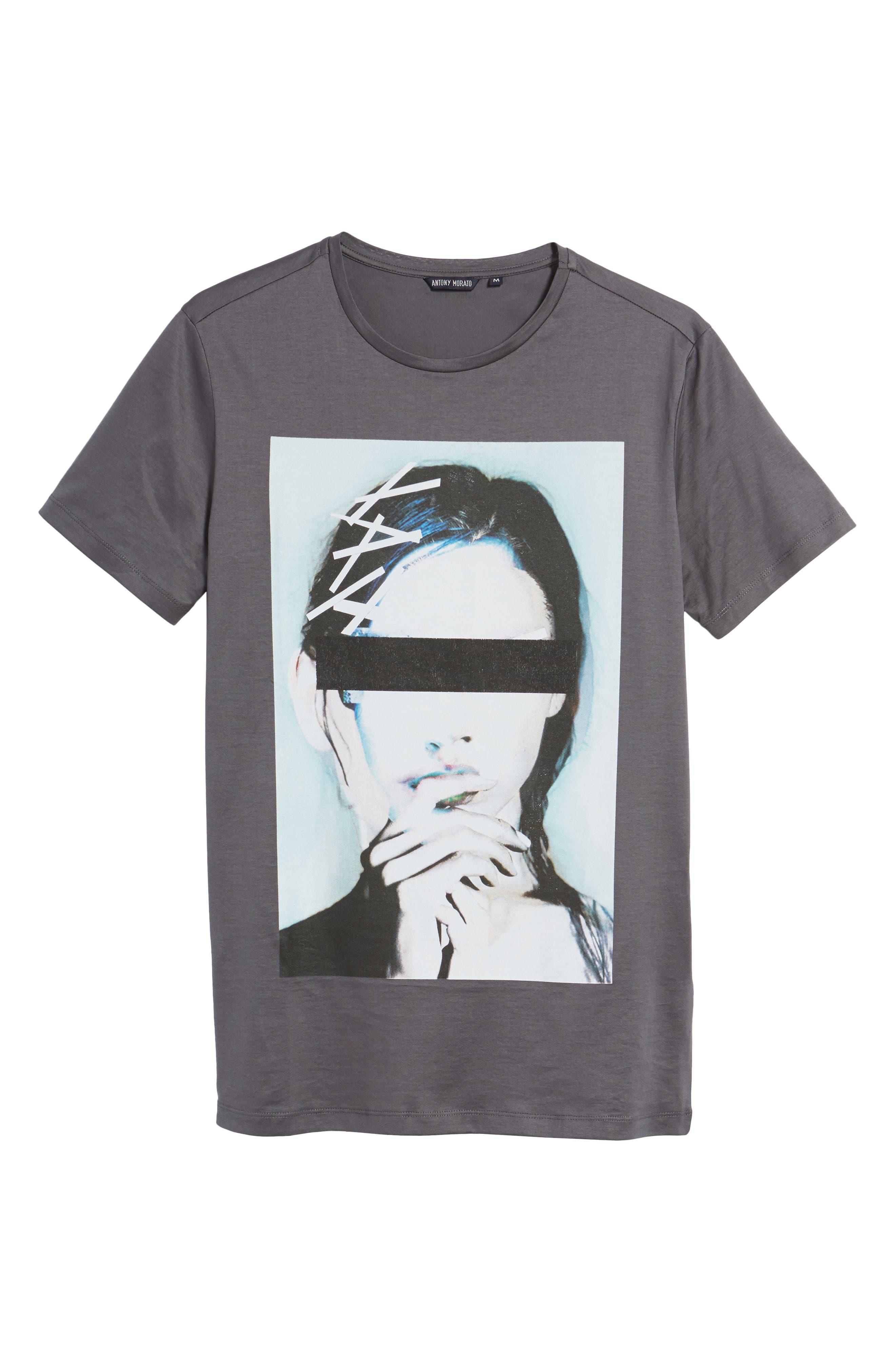 Alternate Image 6  - Antony Morato Print T-ShirtIn