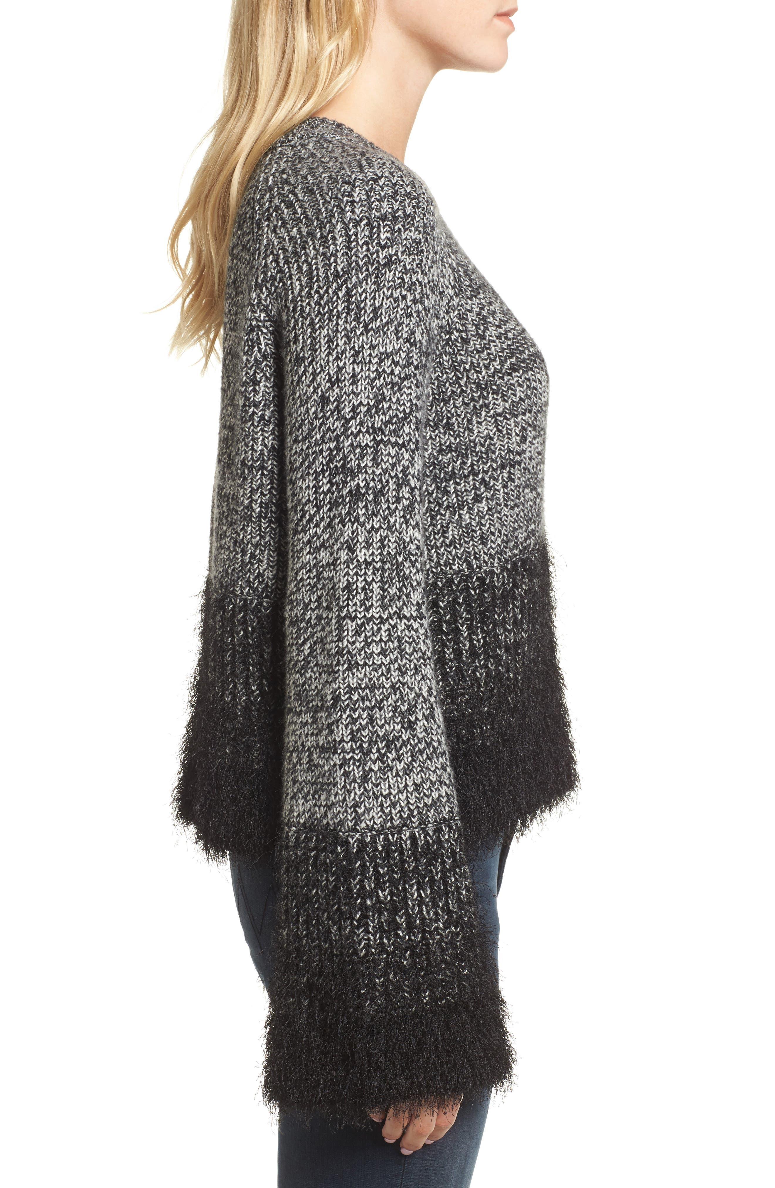 Alternate Image 4  - 1.STATE Eyelash Fringe Sweater