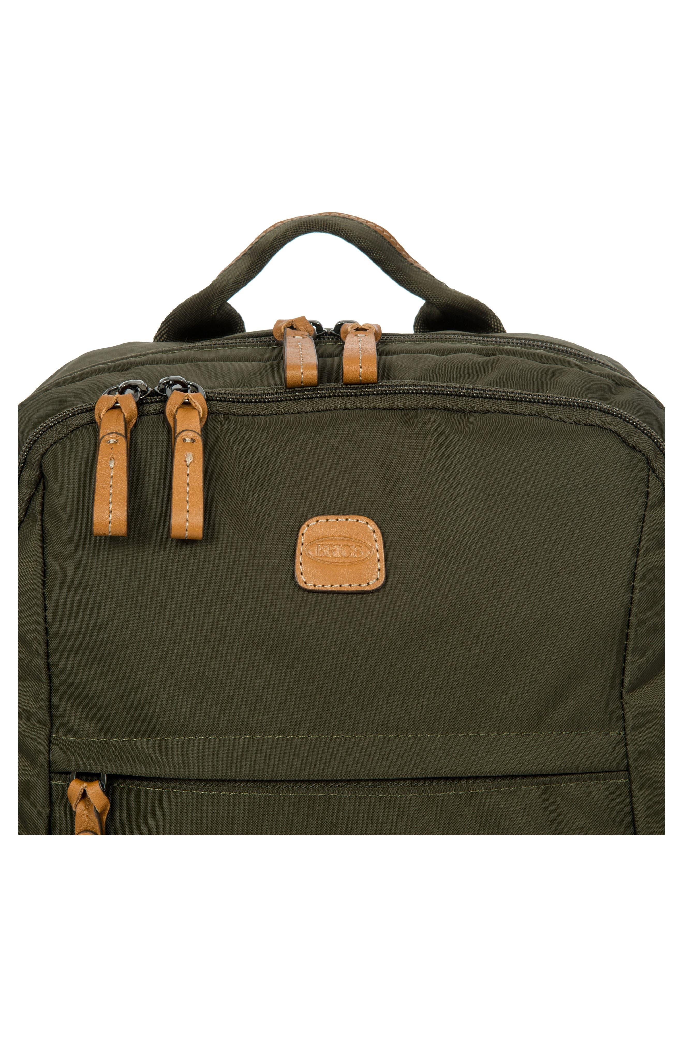 X-Travel Nomad Backpack,                             Alternate thumbnail 5, color,                             Olive