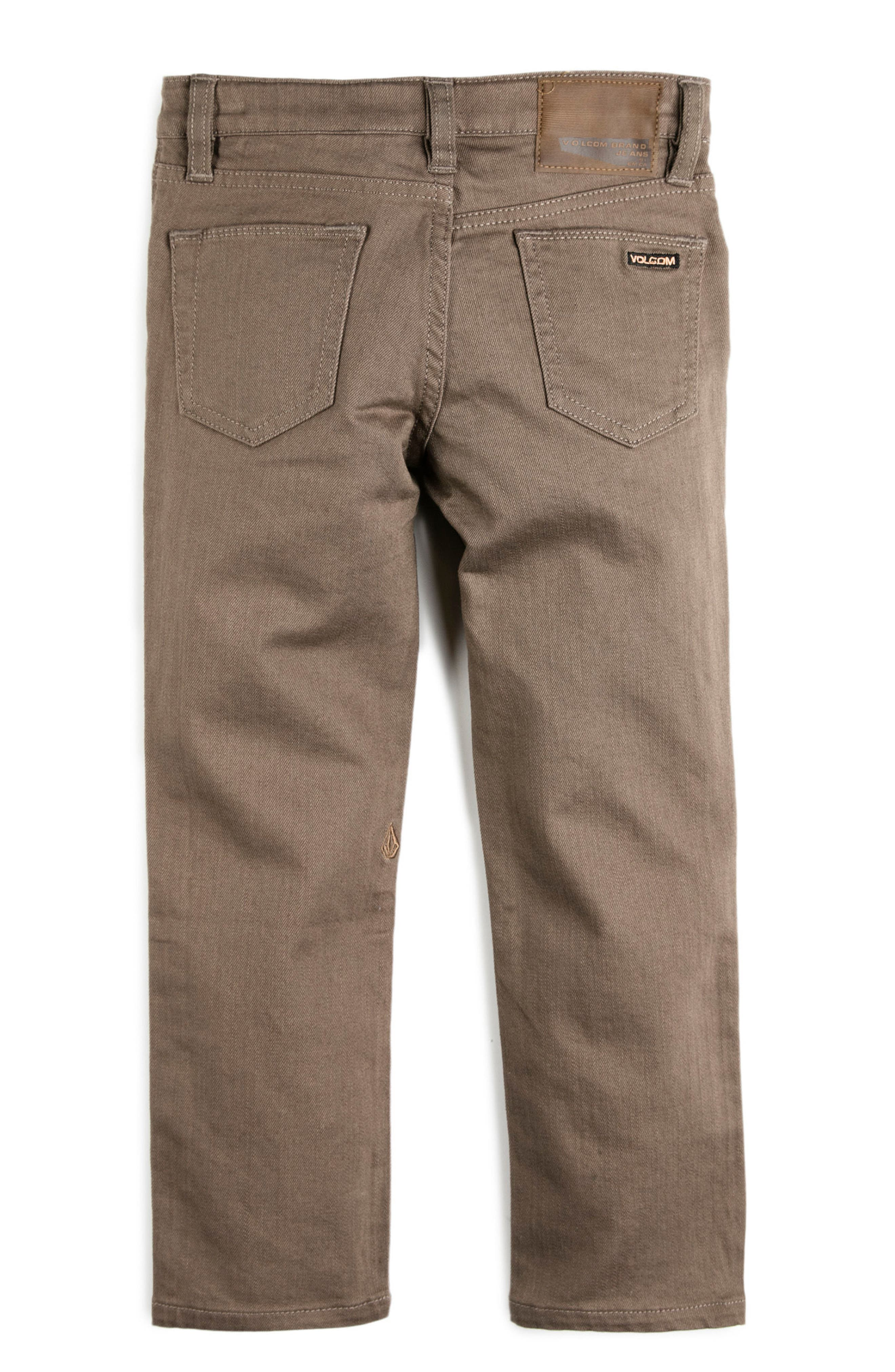 Alternate Image 2  - Volcom Vorta Slubbed Jeans (Toddler Boys & Little Boys)