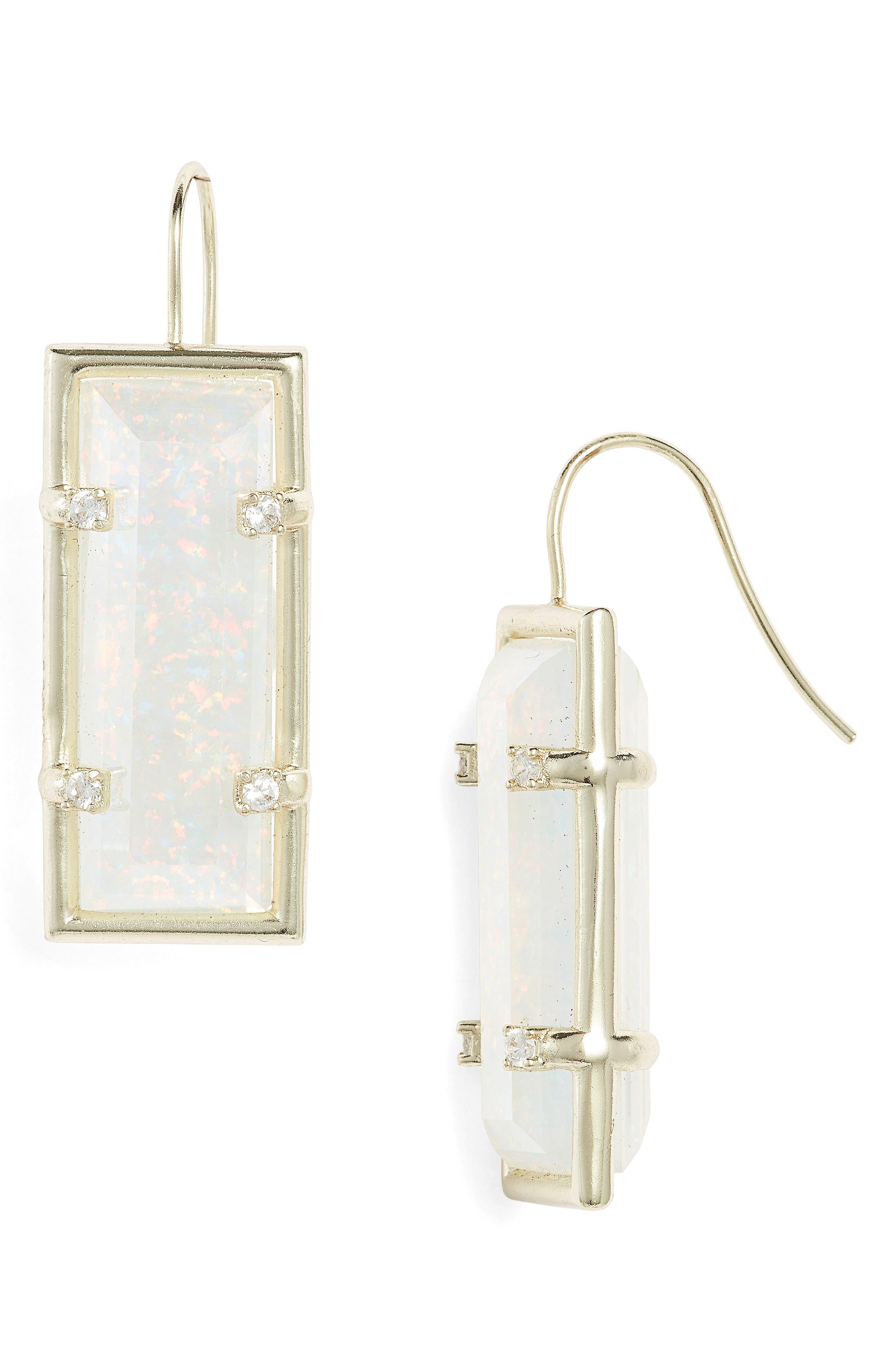 Kendra Scott Knox Opal Drop Earrings