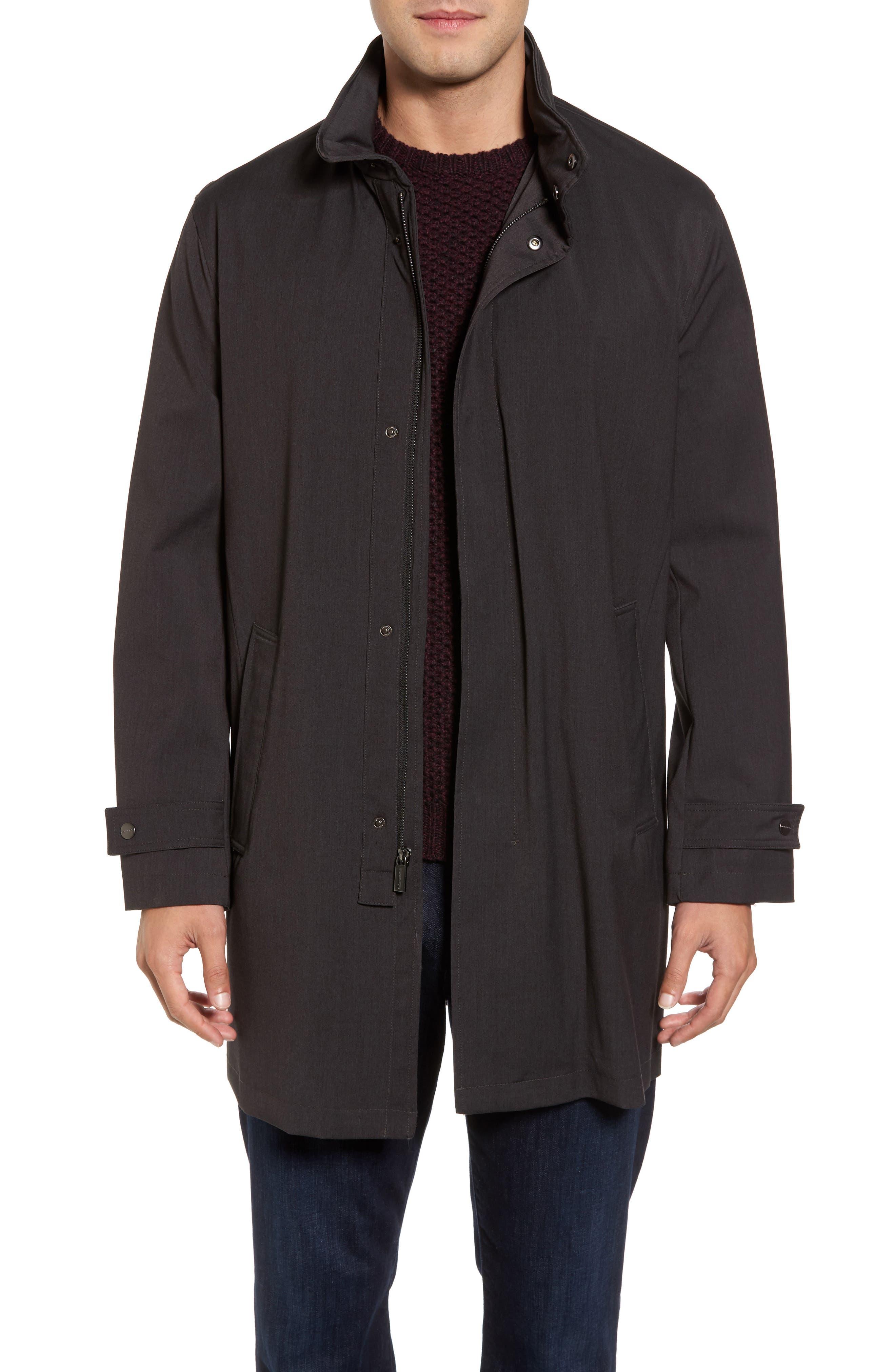Michael Kors Stretch Rain Coat