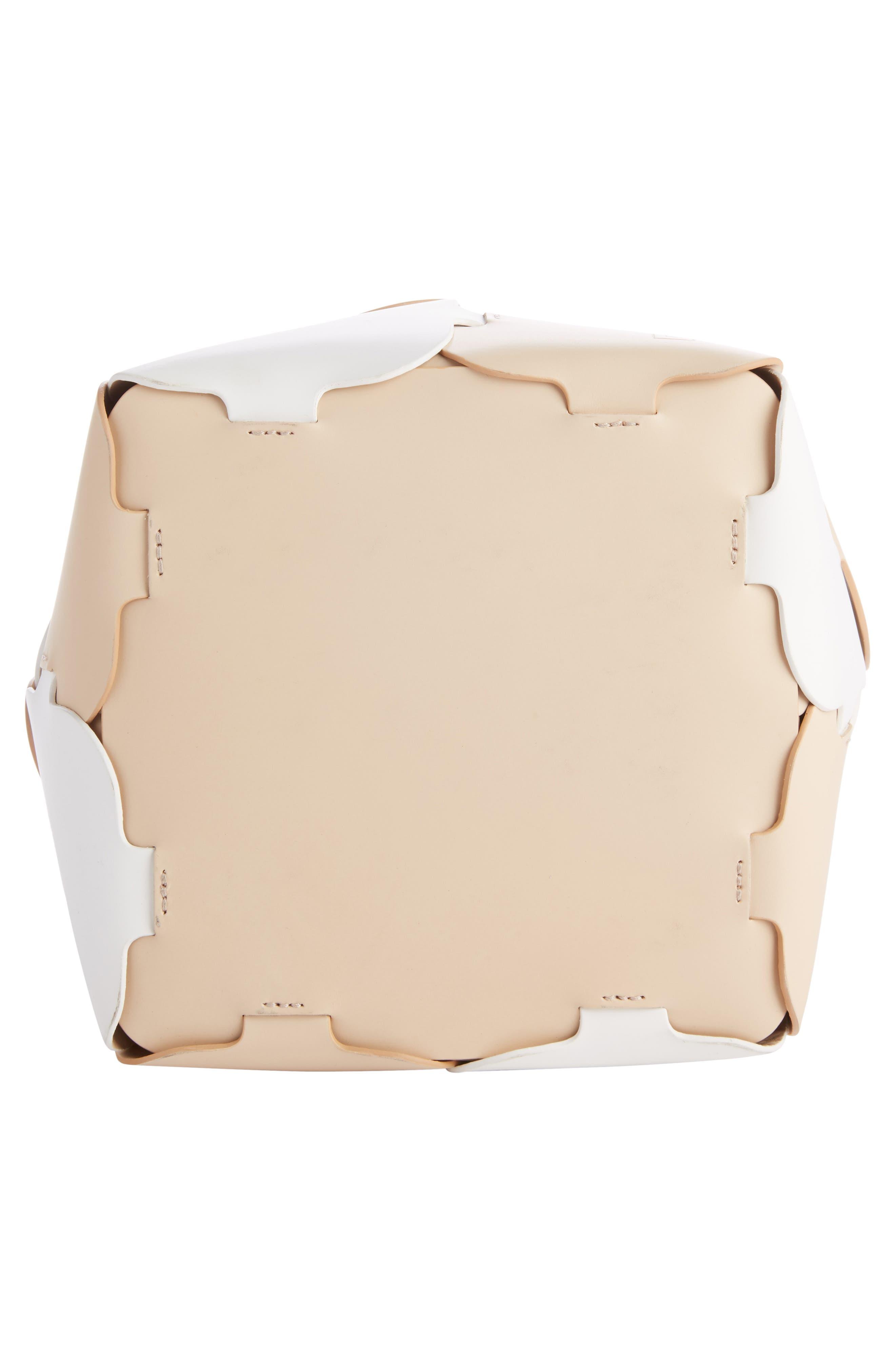 Alternate Image 4  - paco rabanne Medium Element Calfskin Tote