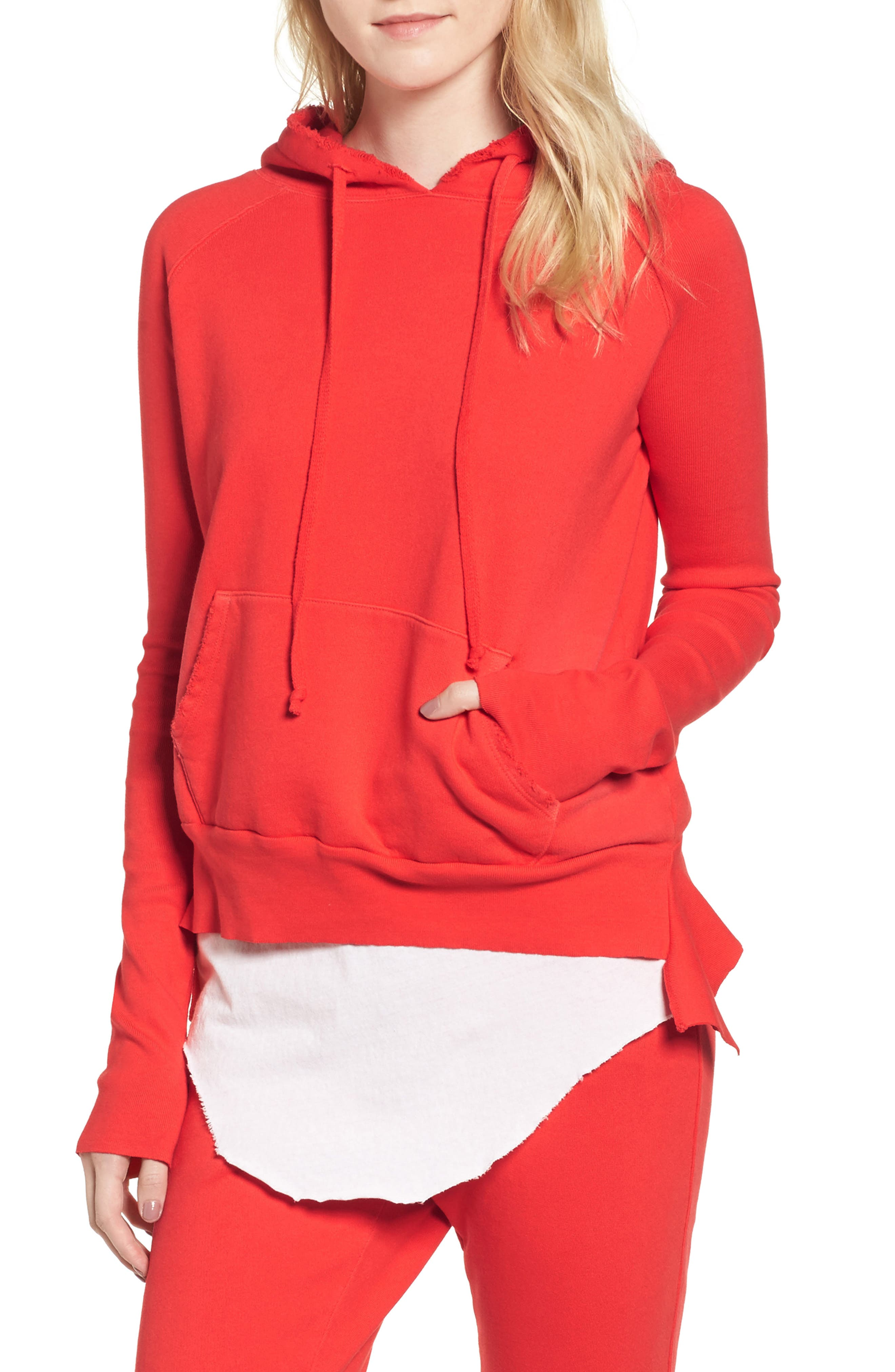 Pullover Hoodie,                         Main,                         color, Flash