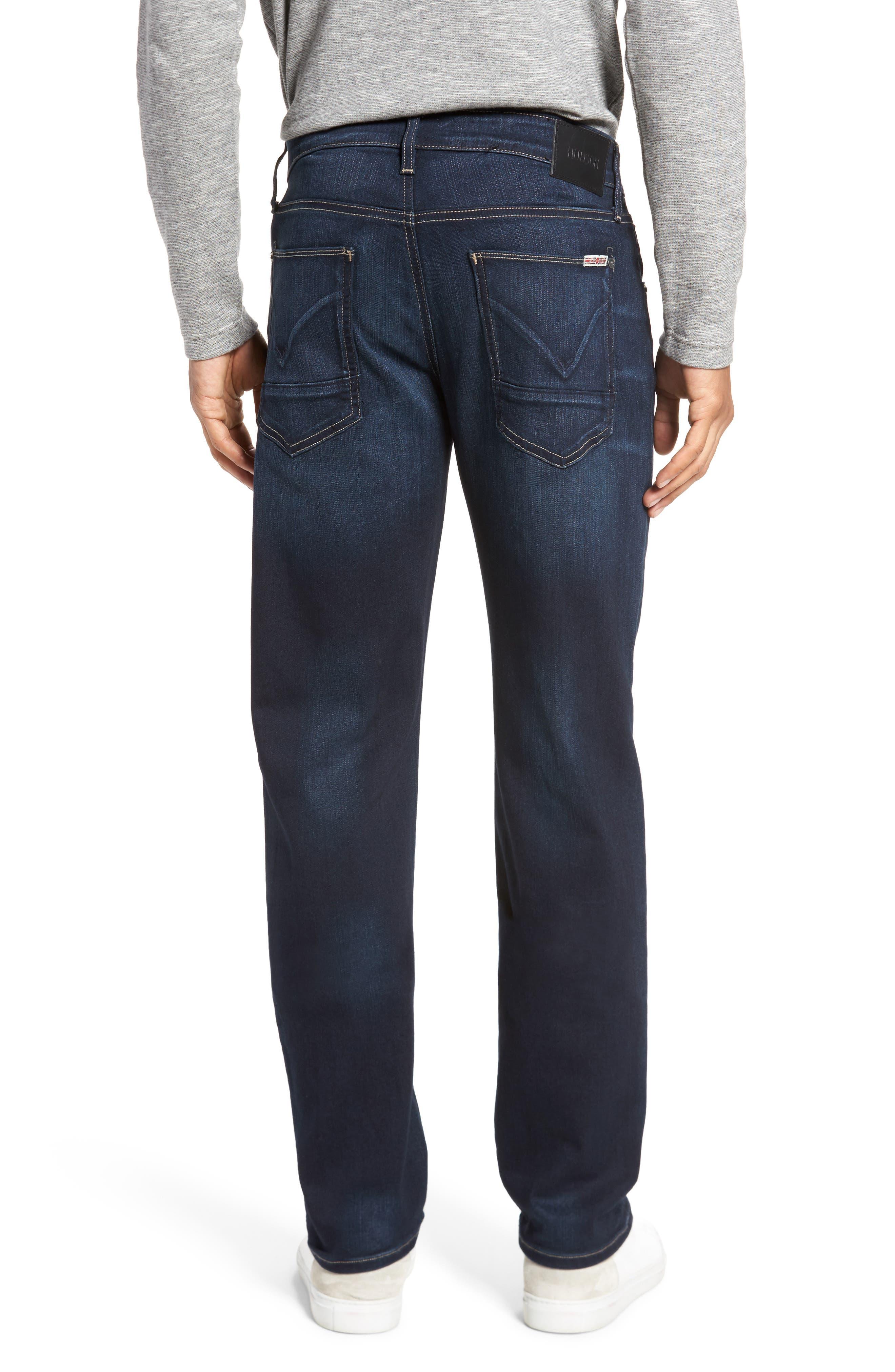 Alternate Image 2  - Hudson Jeans Byron Slim Straight Fit Jeans (Newburyport)