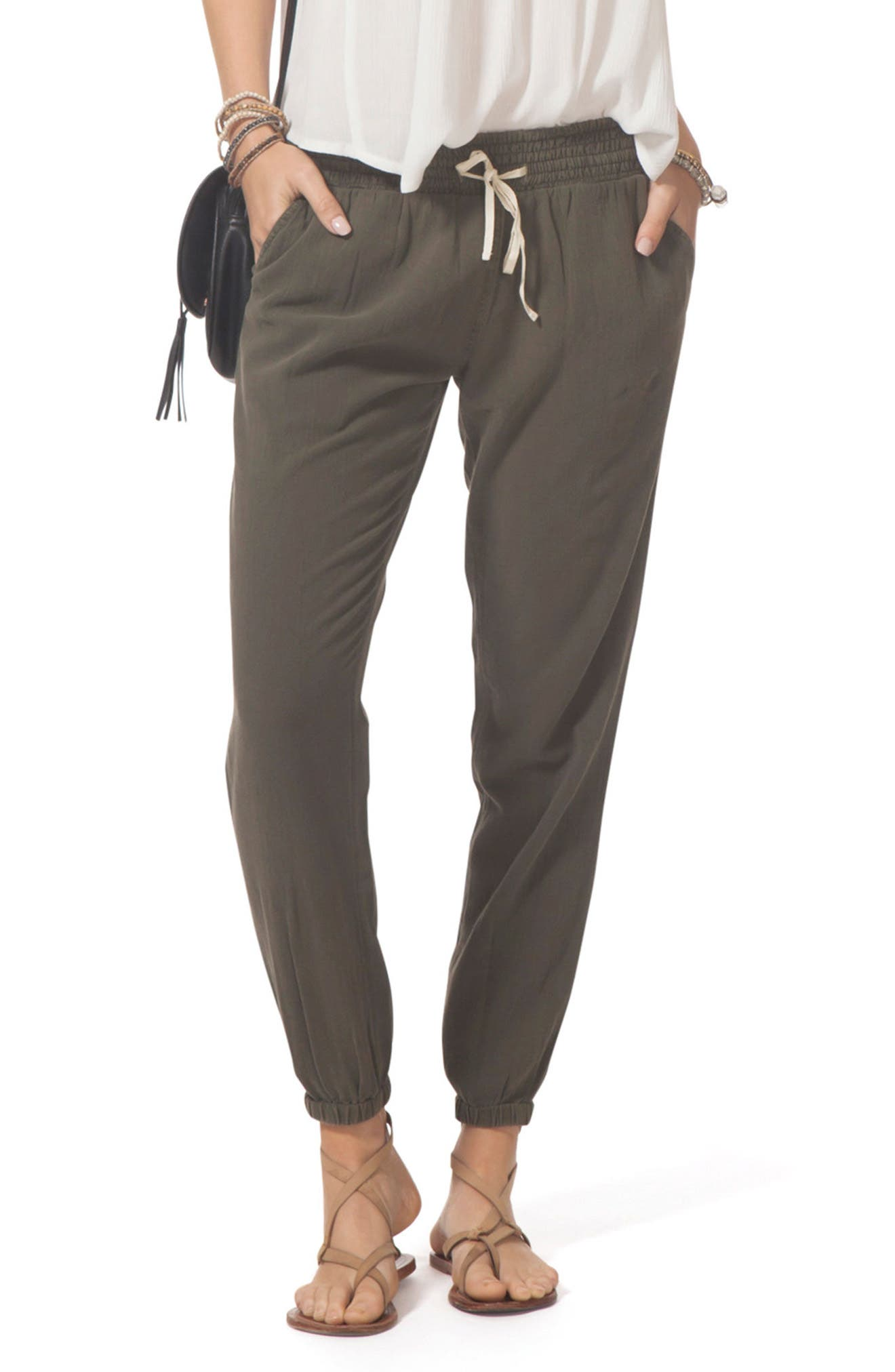 Classic Surf Pants,                         Main,                         color, Army