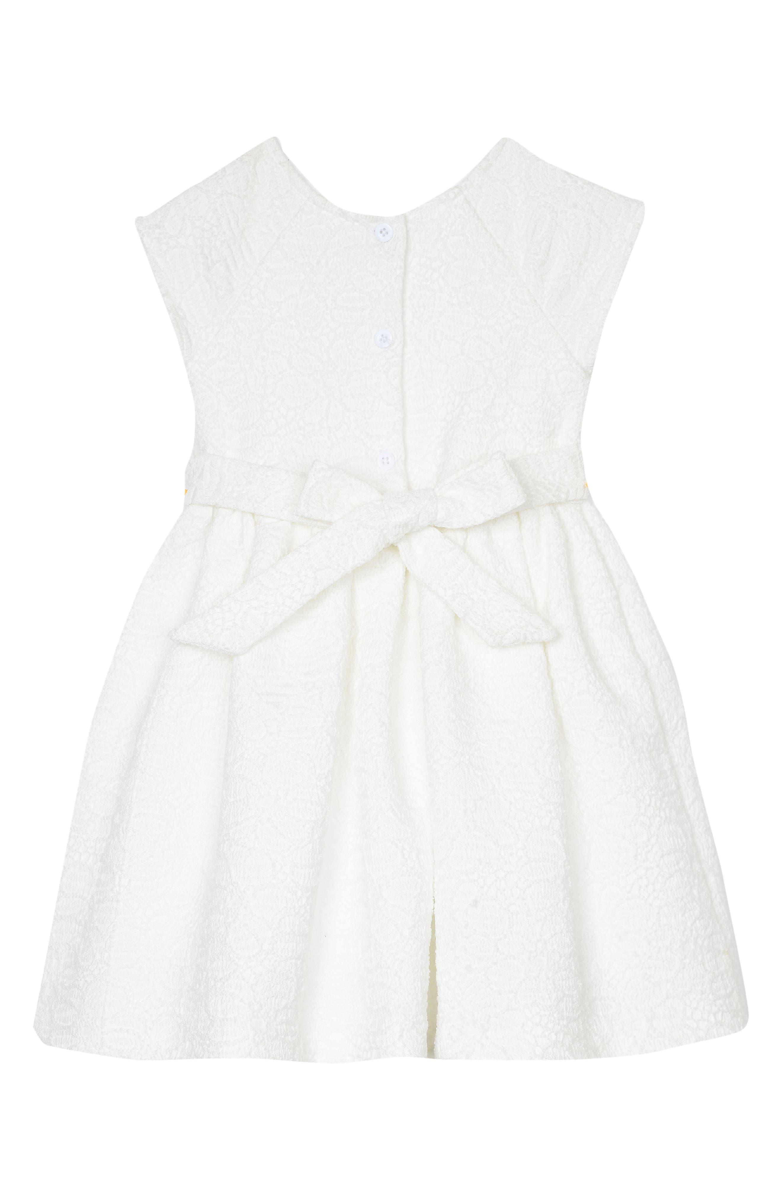 Cherry Blossom Dress,                             Alternate thumbnail 2, color,                             White