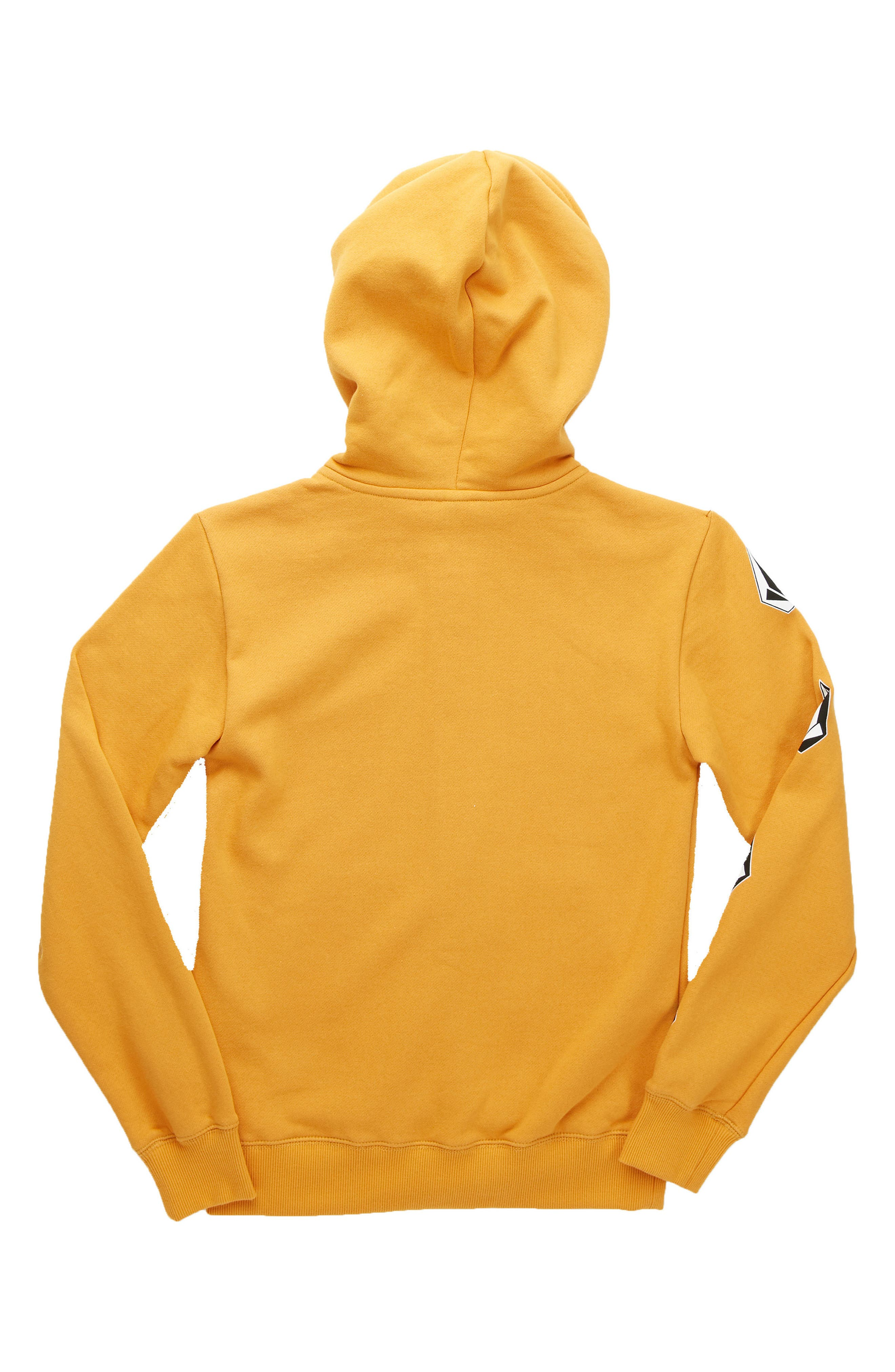 Supply Stone Graphic Zip Hoodie,                             Alternate thumbnail 2, color,                             Gold Vintage