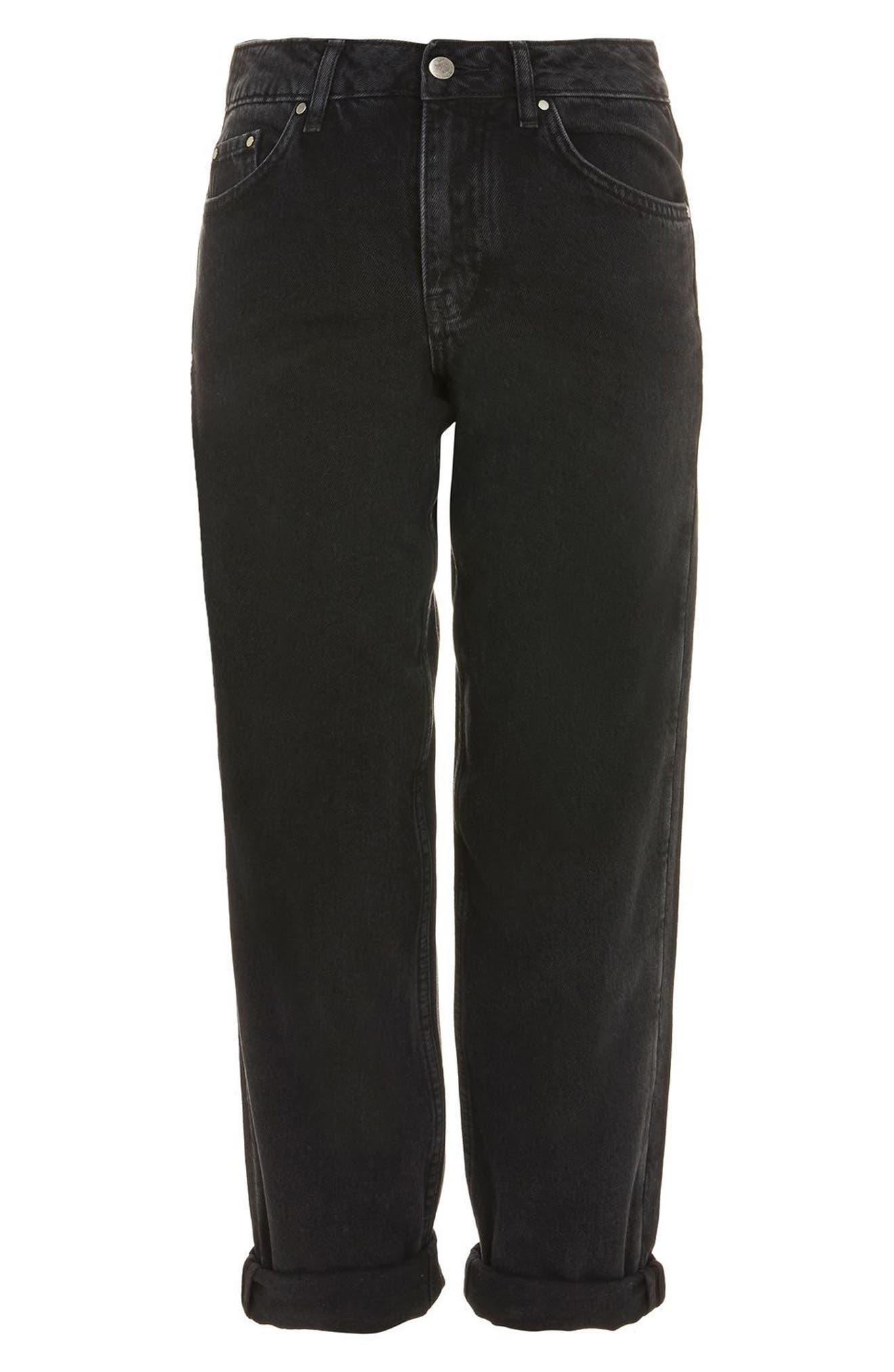 Alternate Image 7  - Topshop Boutique Boyfriend Jeans