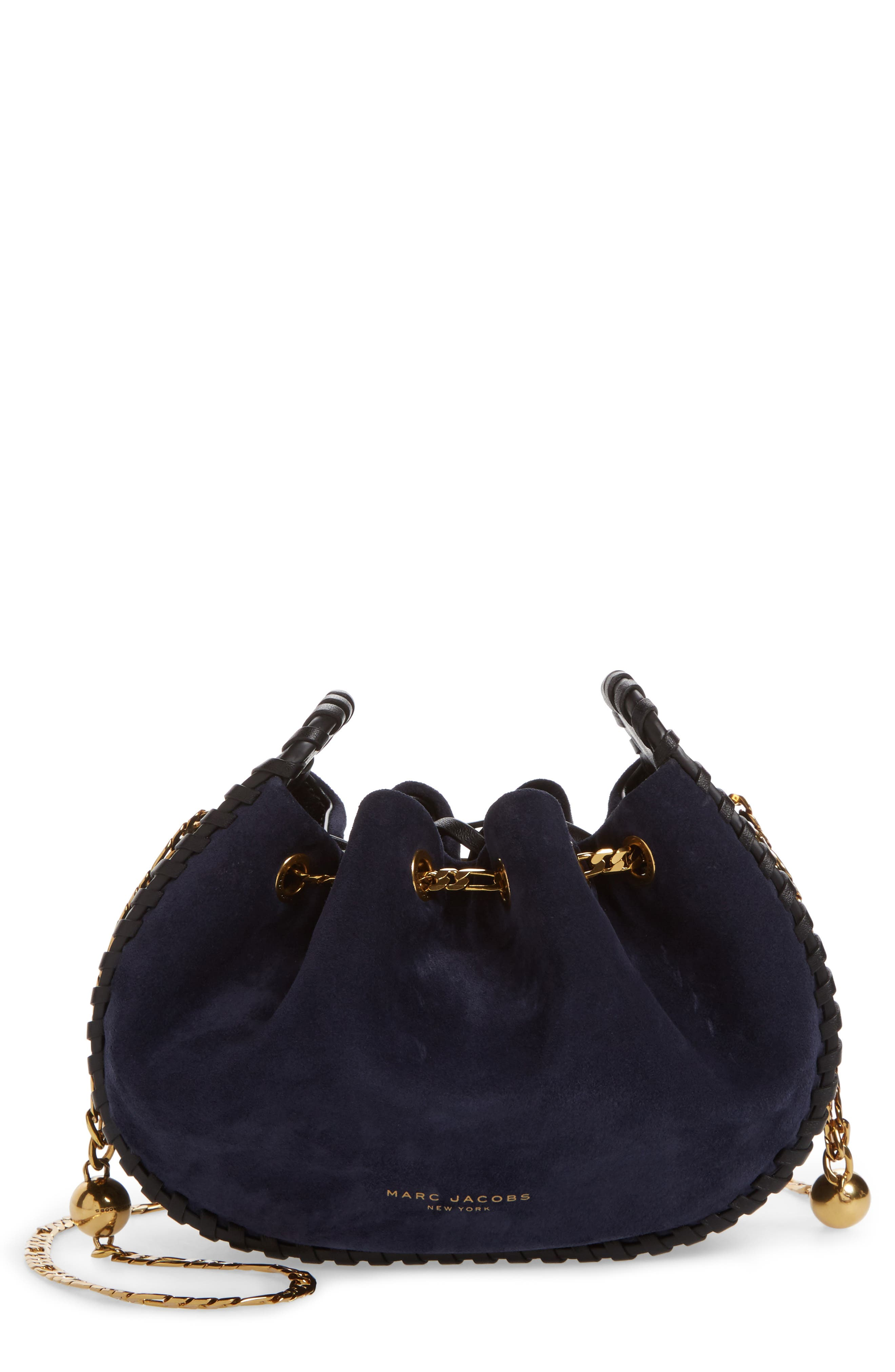 Alternate Image 1 Selected - MARC JACOBS Sway Party Suede Crossbody Bag