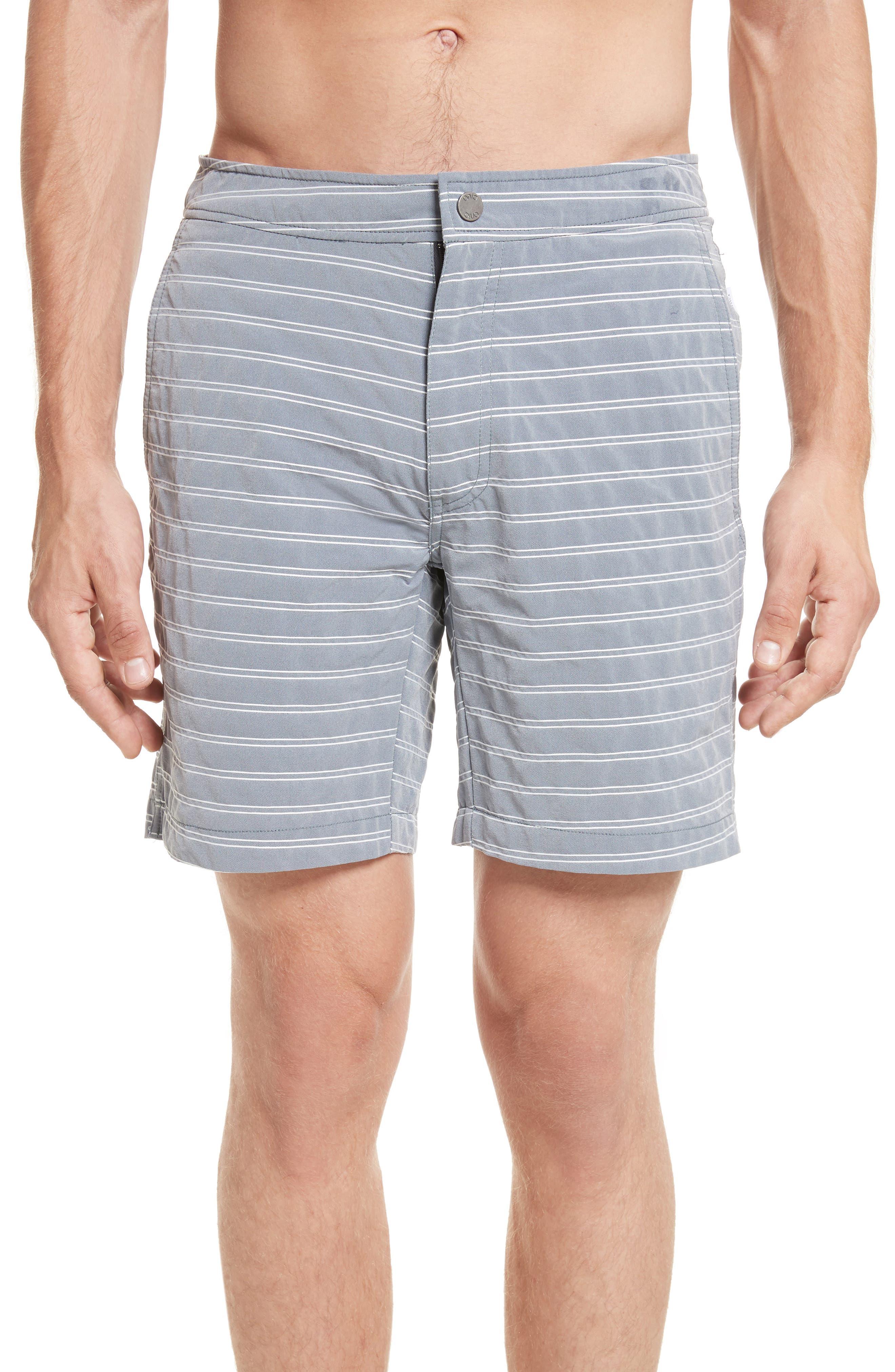 ONIA Calder Stripe Board Shorts