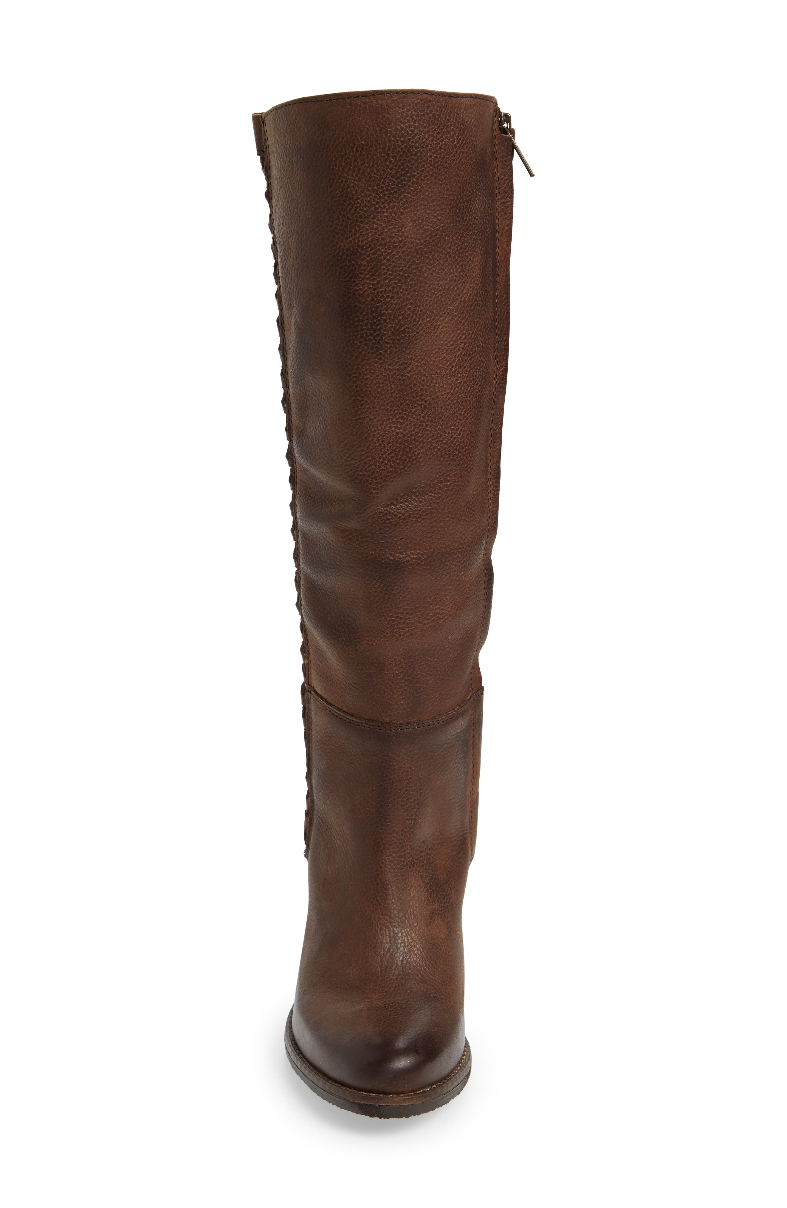 Flacon Boot,                             Alternate thumbnail 4, color,                             Brown Leather