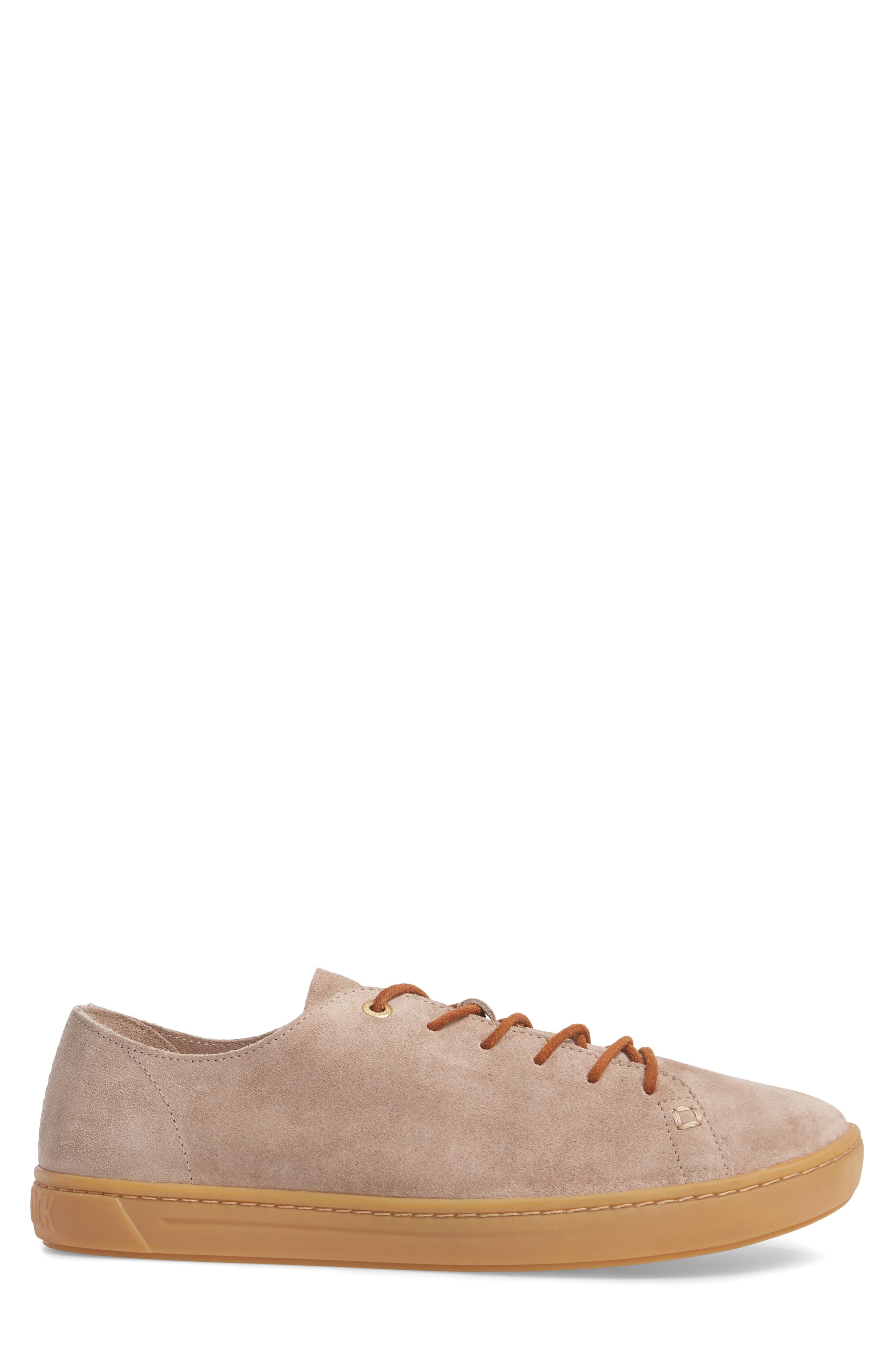 Arran Sneaker,                             Alternate thumbnail 3, color,                             Taupe Suede