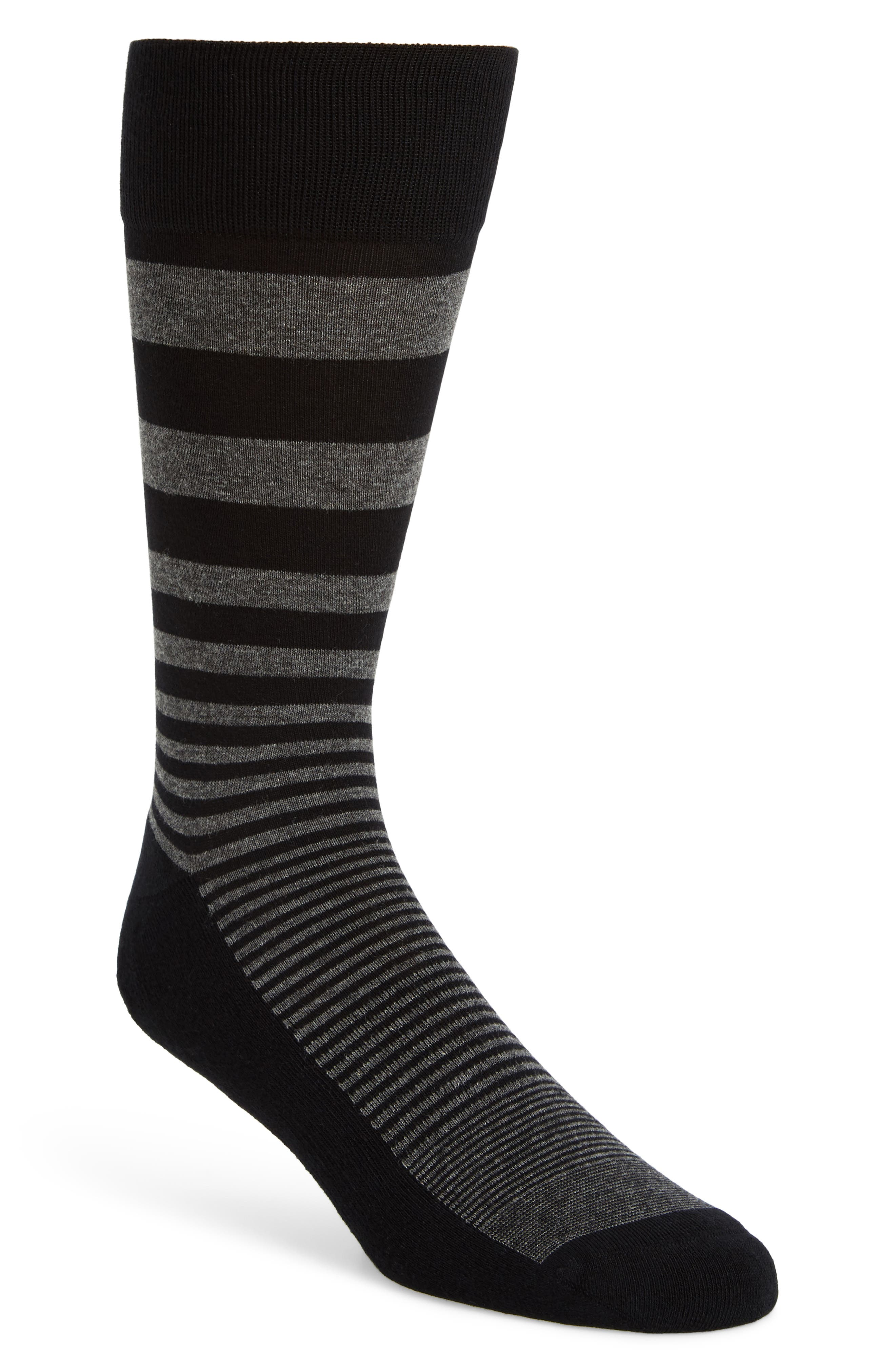 Alternate Image 1 Selected - Nordstrom Men's Shop Stripe Socks (3 for $30)