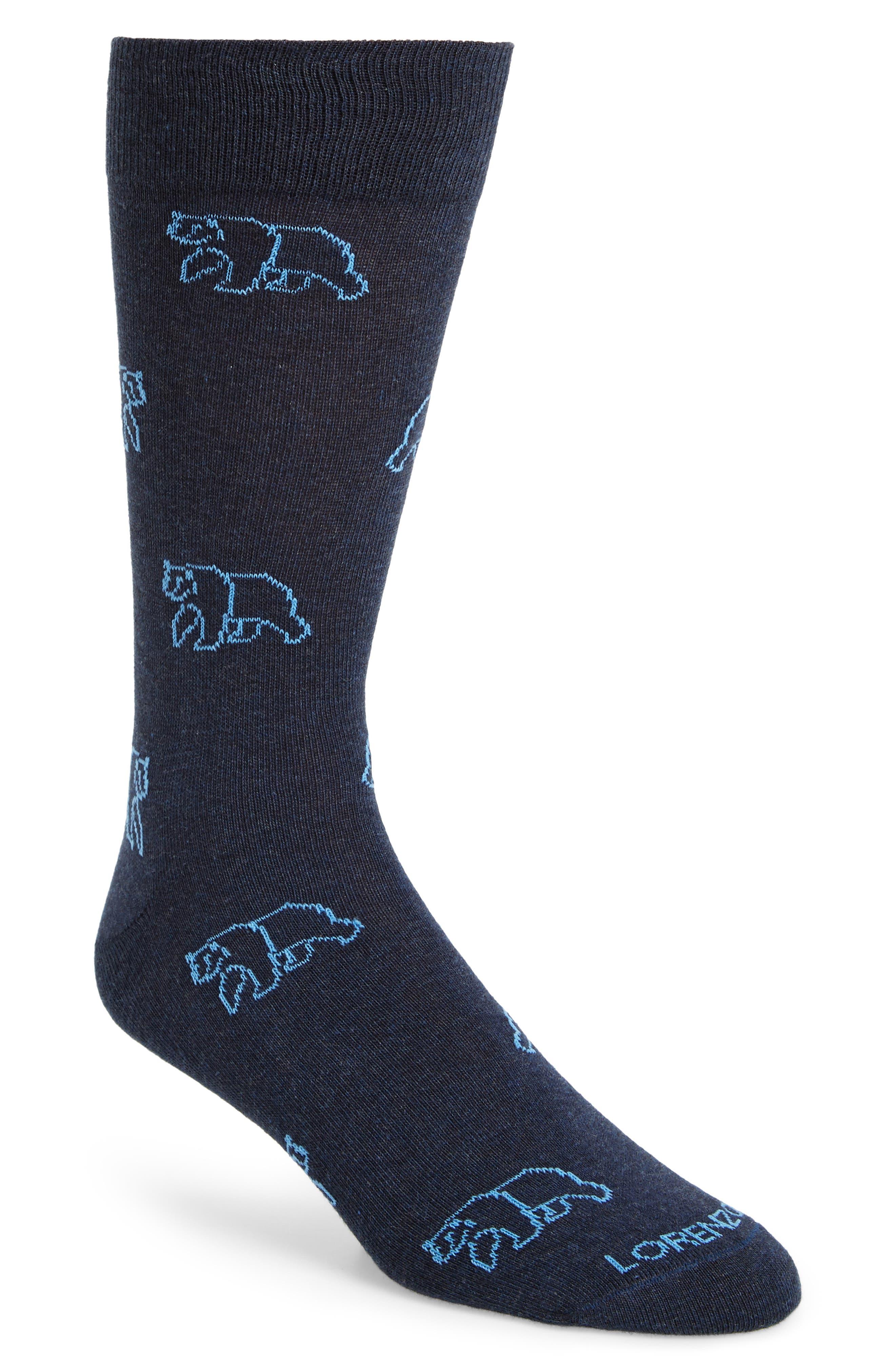 Lorenzo Uomo Grizzly Bear Socks