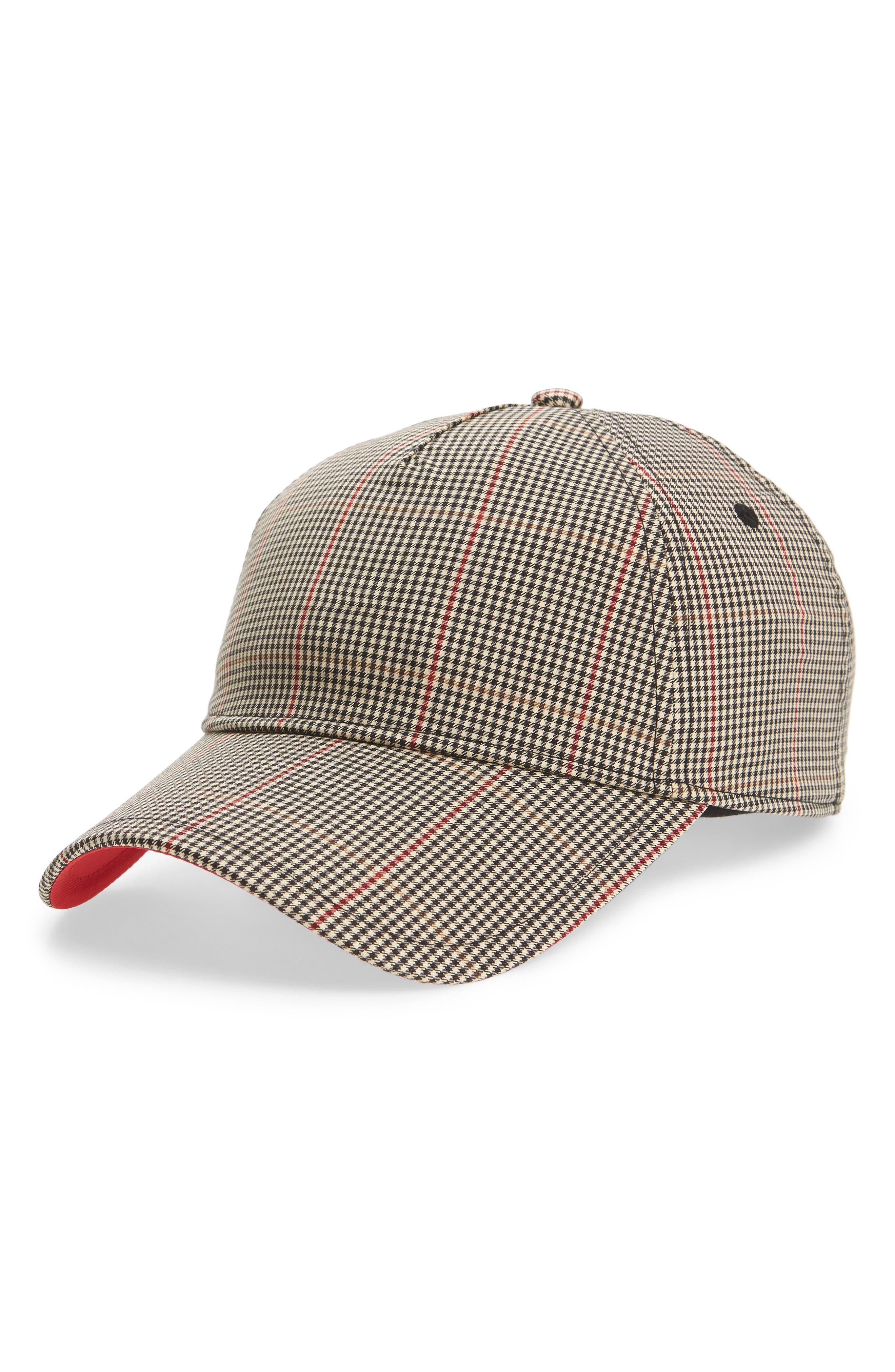 Marilyn Baseball Cap,                         Main,                         color, Tan Multi