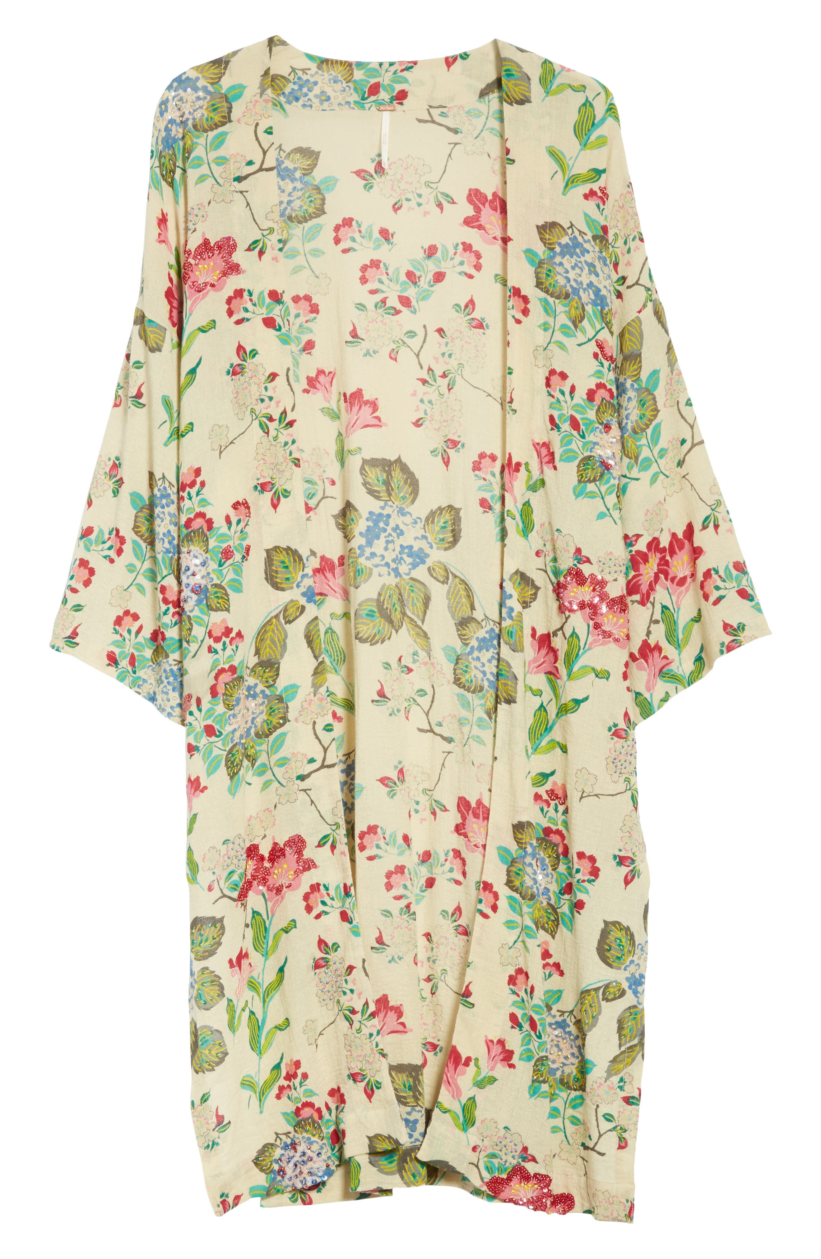 Latimer Kimono,                             Alternate thumbnail 6, color,                             Neutral Combo