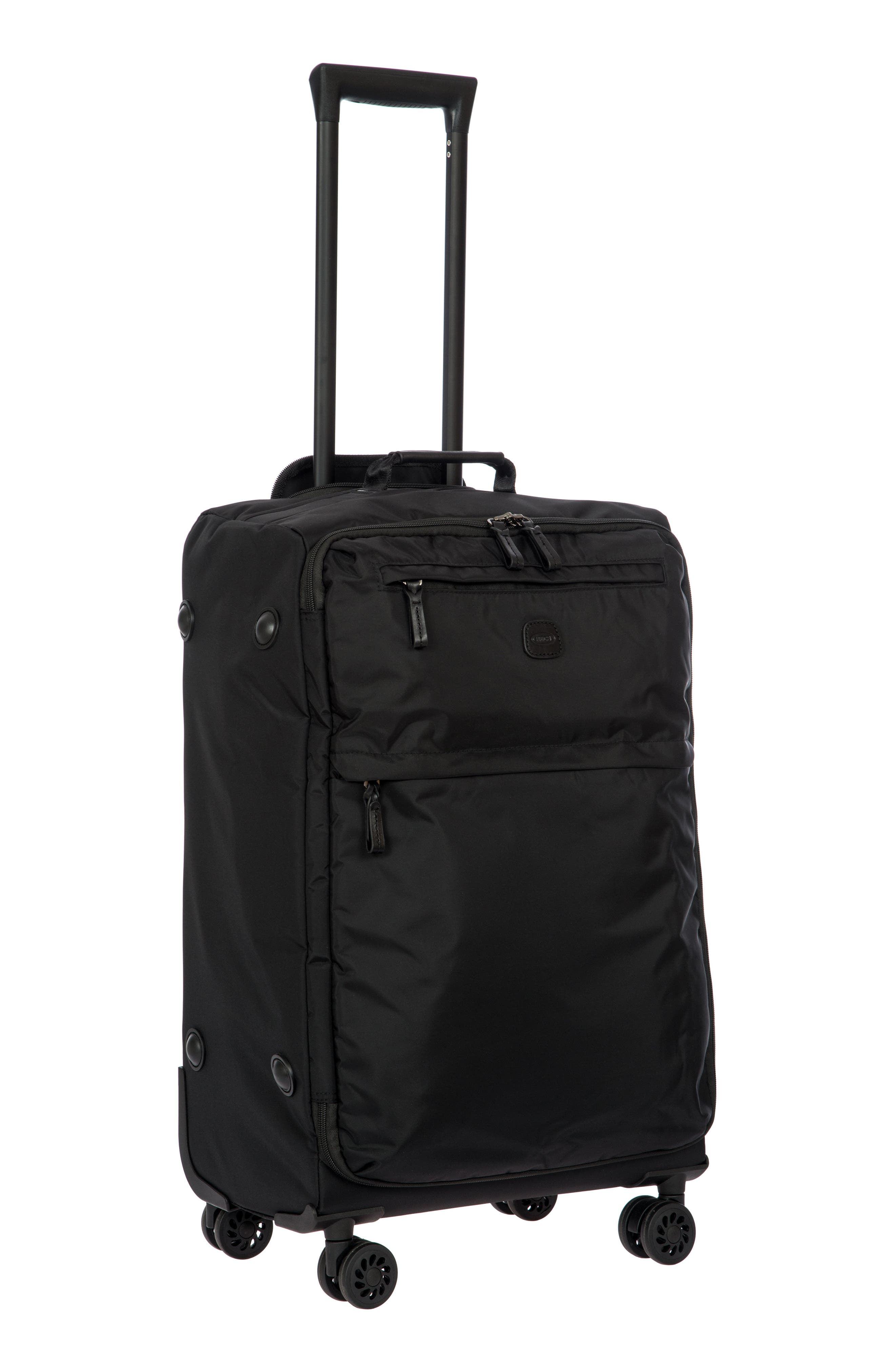 X-Bag 25-Inch Spinner Suitcase,                             Alternate thumbnail 7, color,                             Black/ Black