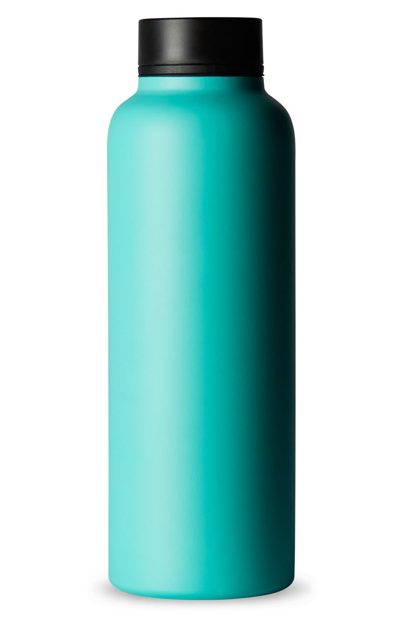 Stainless Steel Tea Flask,                             Main thumbnail 1, color,                             Aqua
