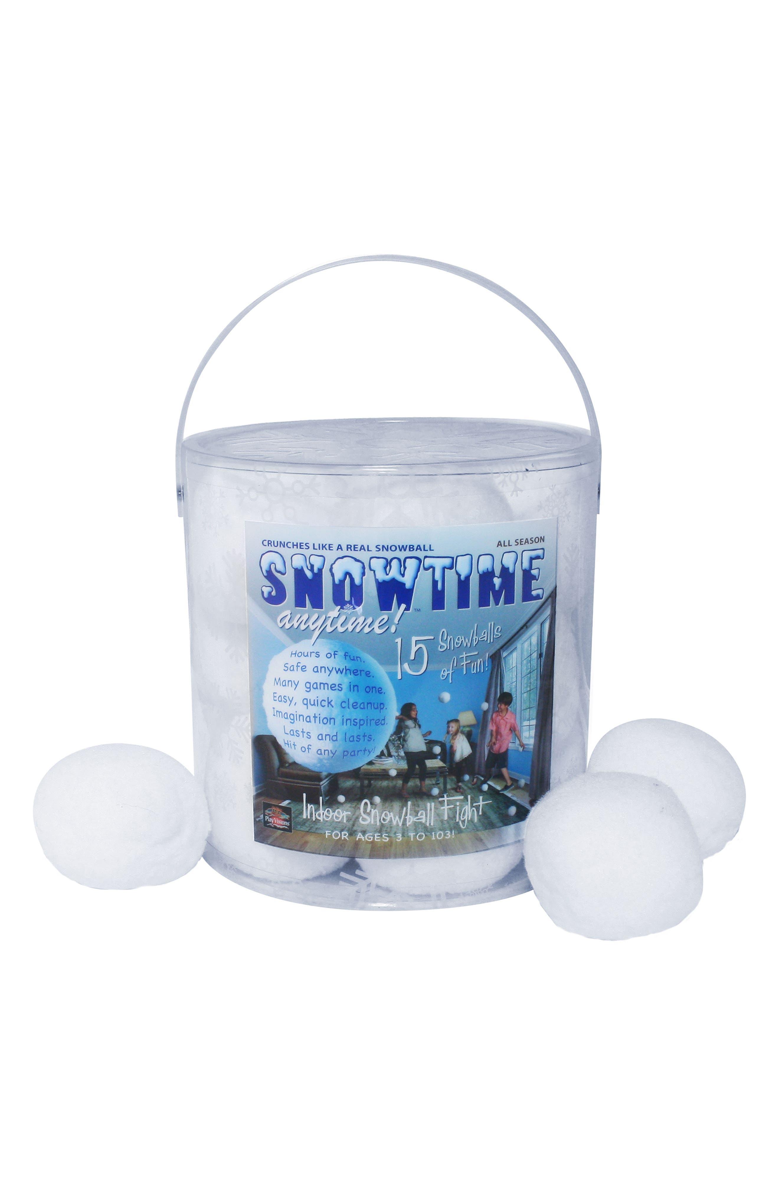 Main Image - Play Visions Toys Snowtime 15-Pack Snowballs