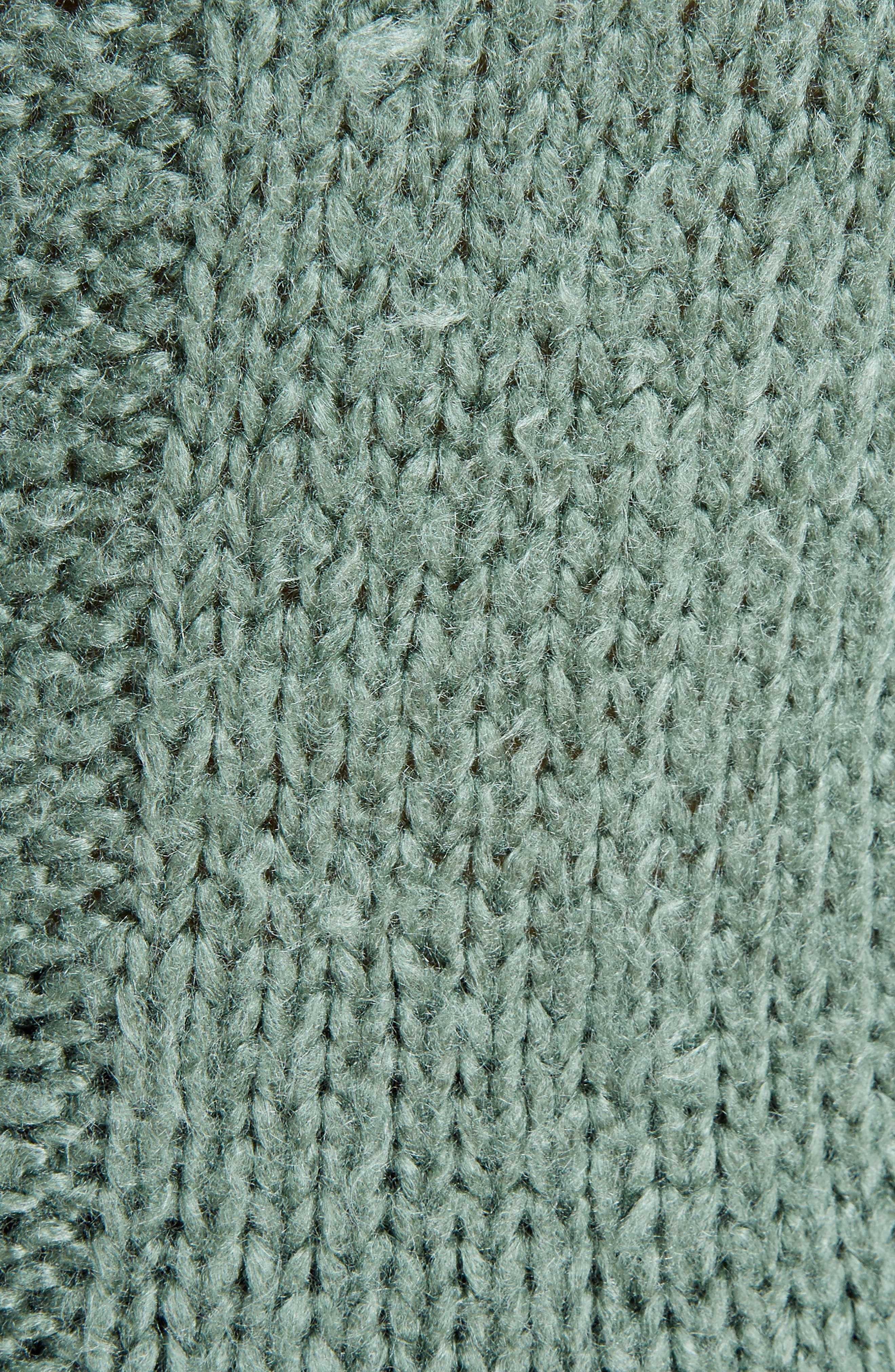 Knit Silk Sweater,                             Alternate thumbnail 5, color,                             Sage
