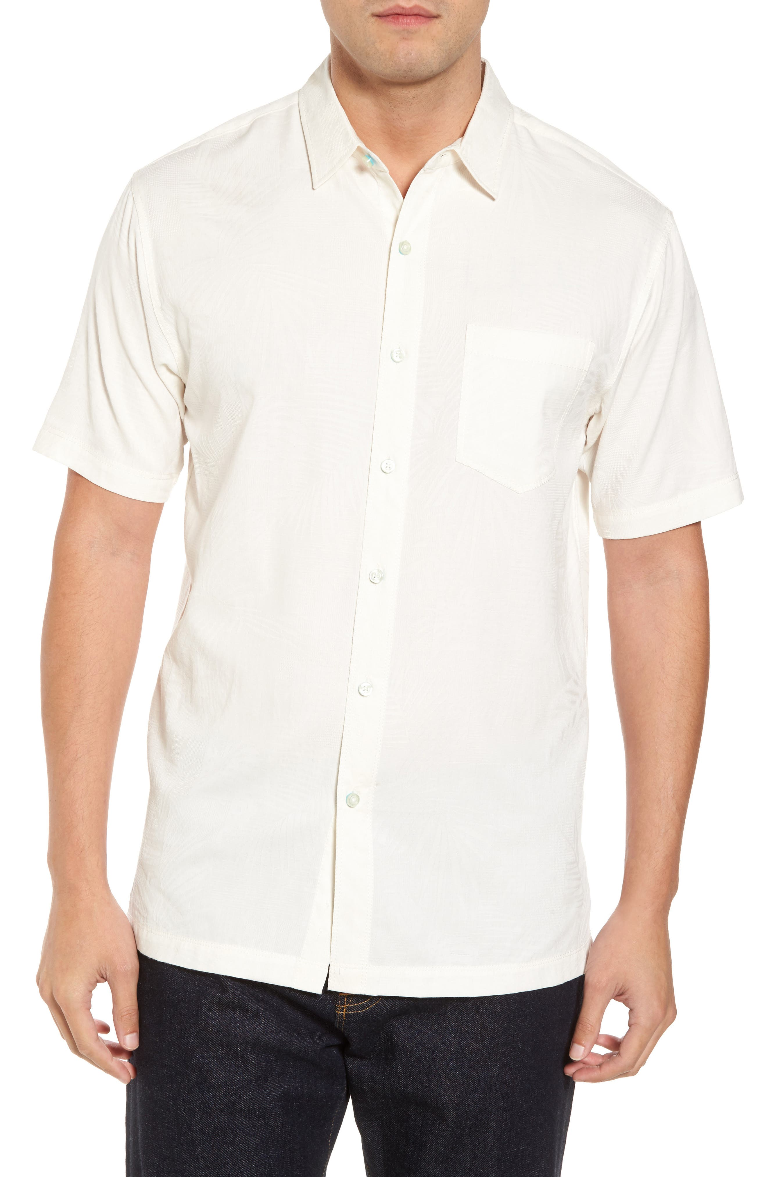 Milagro Classic Fit Sport Shirt,                         Main,                         color, Eggshell
