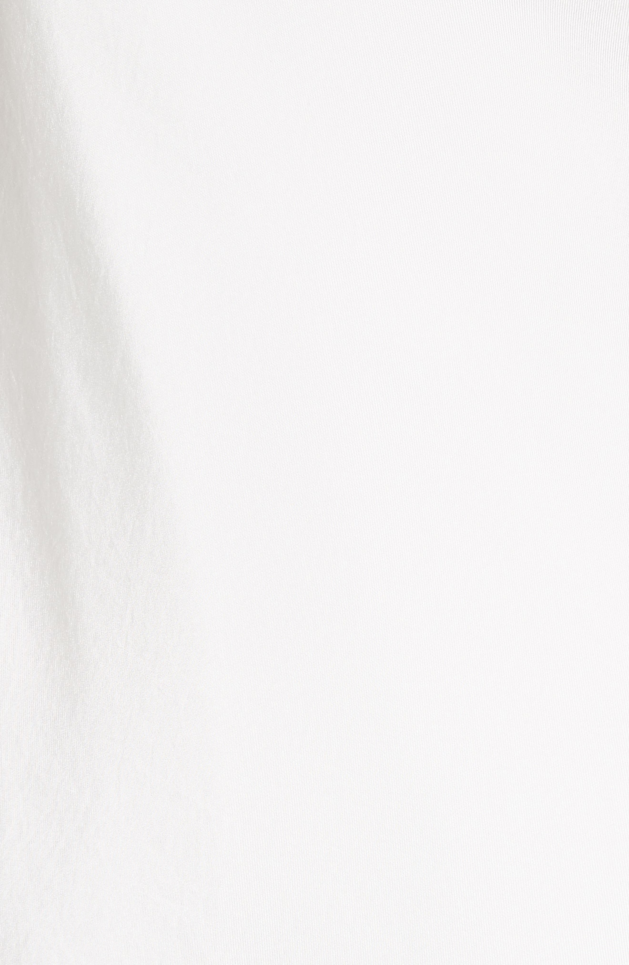 Colorblock Slipdress,                             Alternate thumbnail 5, color,                             Ivory/ Blush Multi