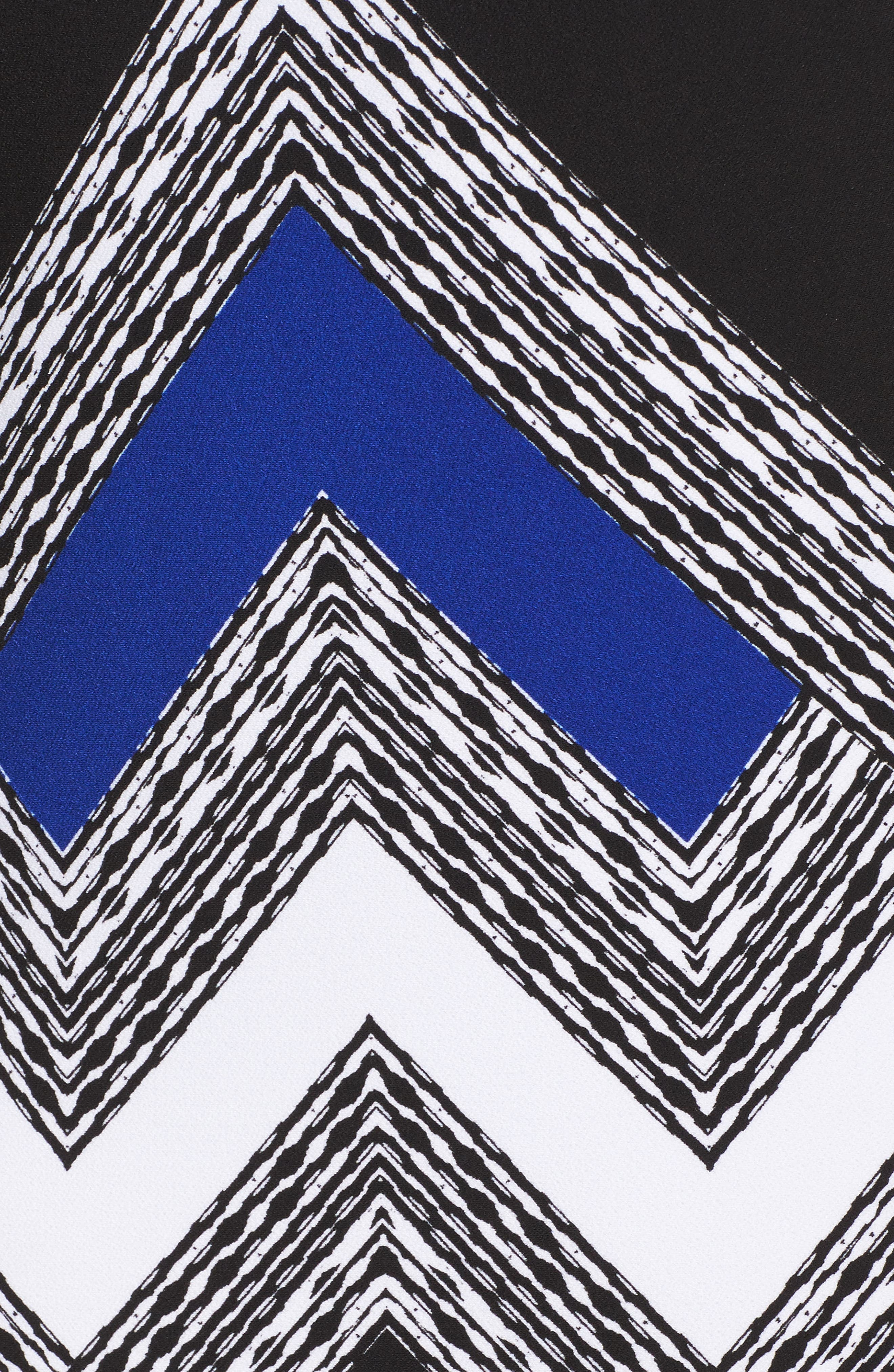 Alternate Image 5  - Vince Camuto Geo Print Shift Dress (Plus Size)