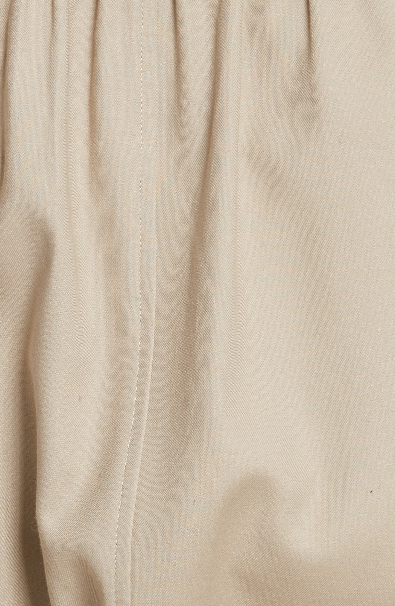 Alwena Cotton Trench Coat,                             Alternate thumbnail 5, color,                             Khaki