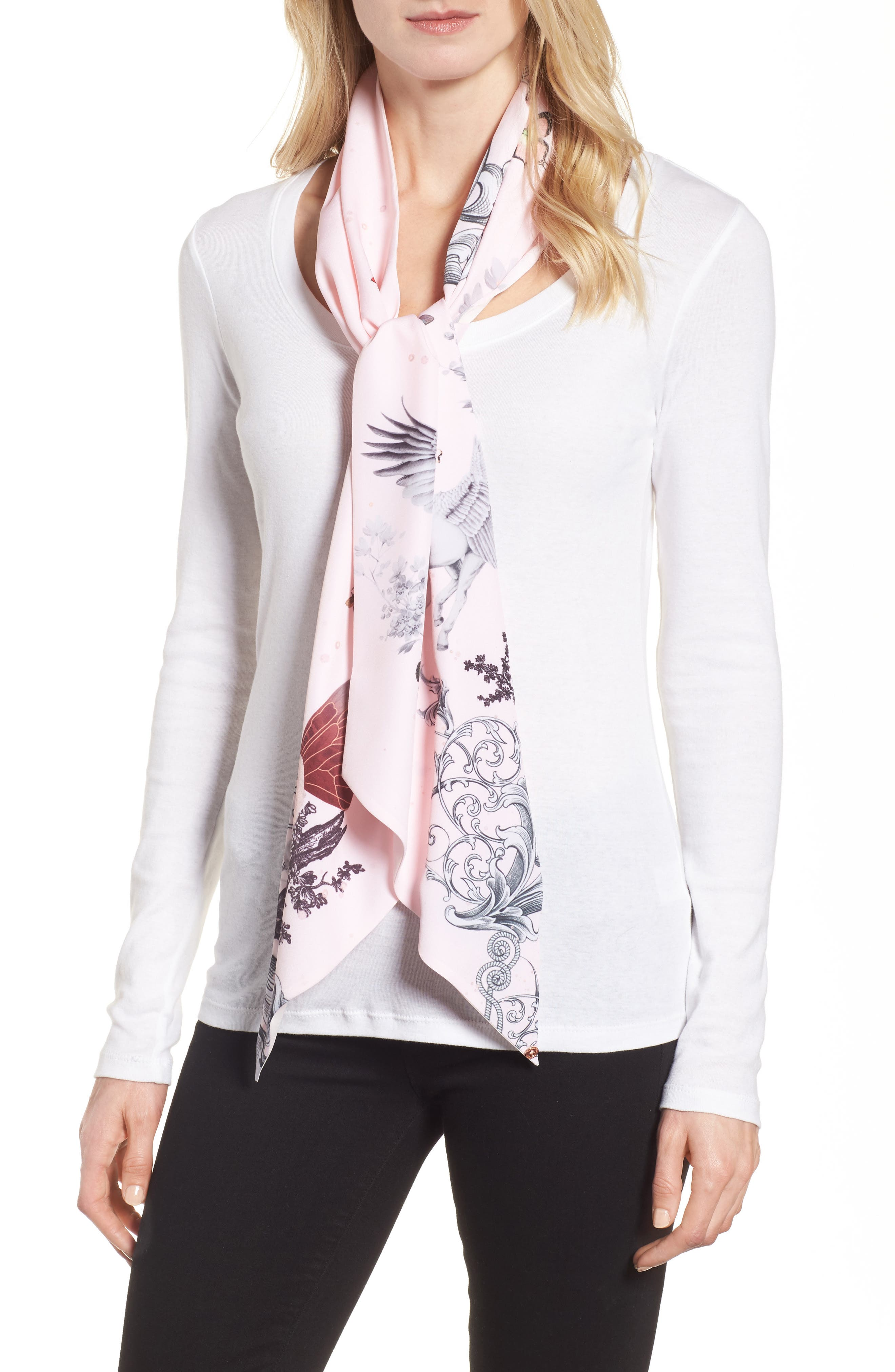 Ted Baker London Enchanted Dream Skinny Scarf