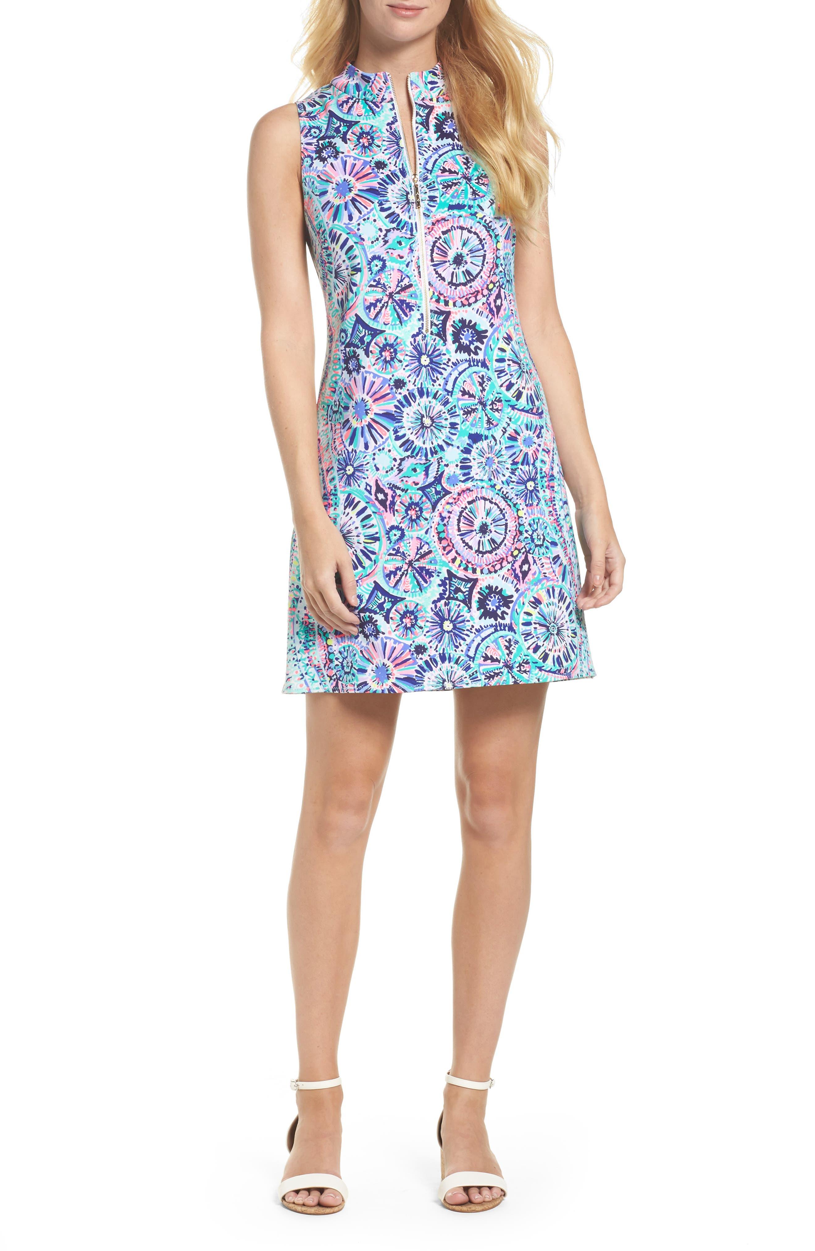 Opal Sheath Dress,                             Main thumbnail 1, color,                             Multi The Swim