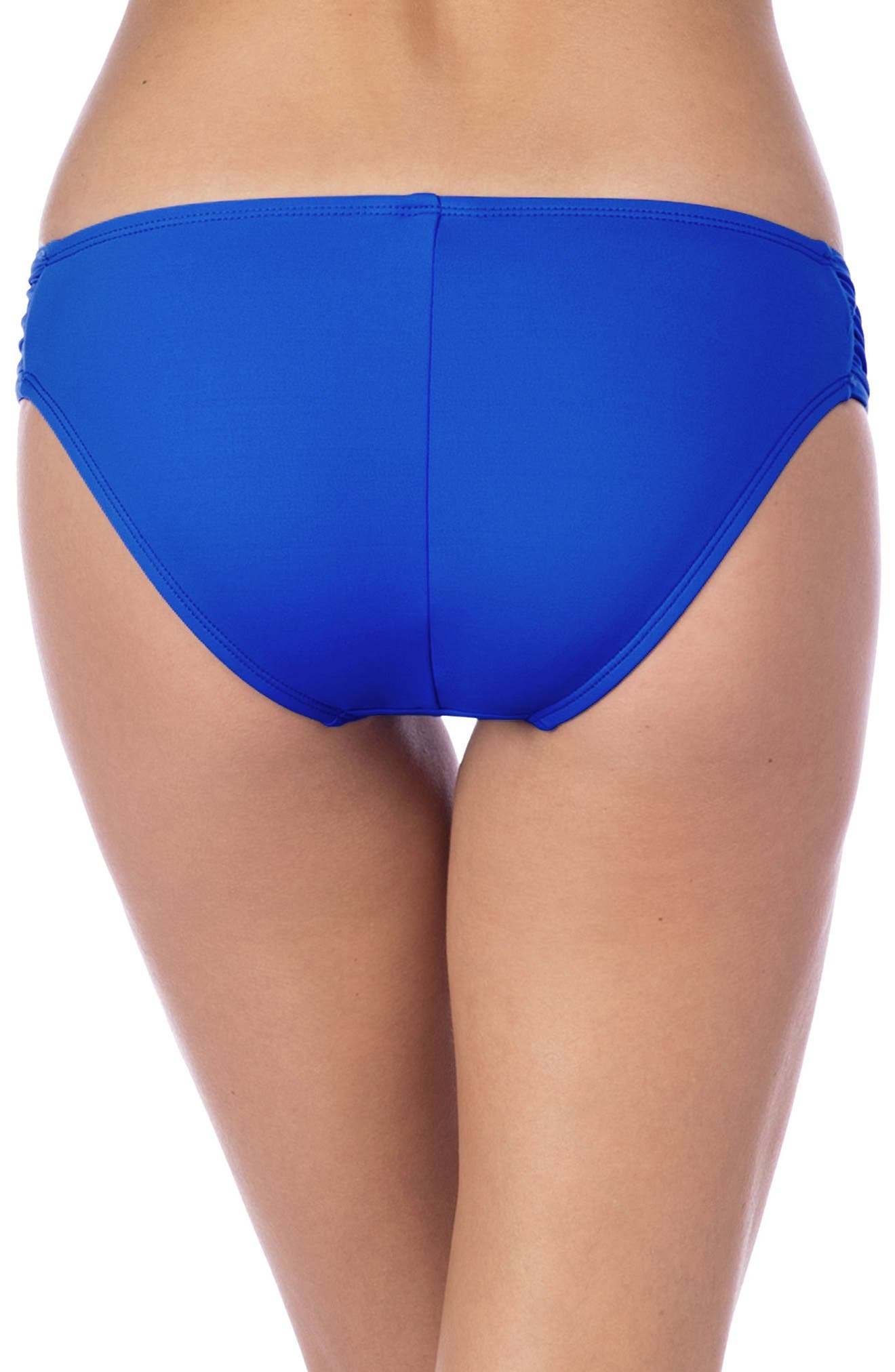 Island Goddess Hipster Bikini Bottoms,                             Alternate thumbnail 2, color,                             Apollo Blue