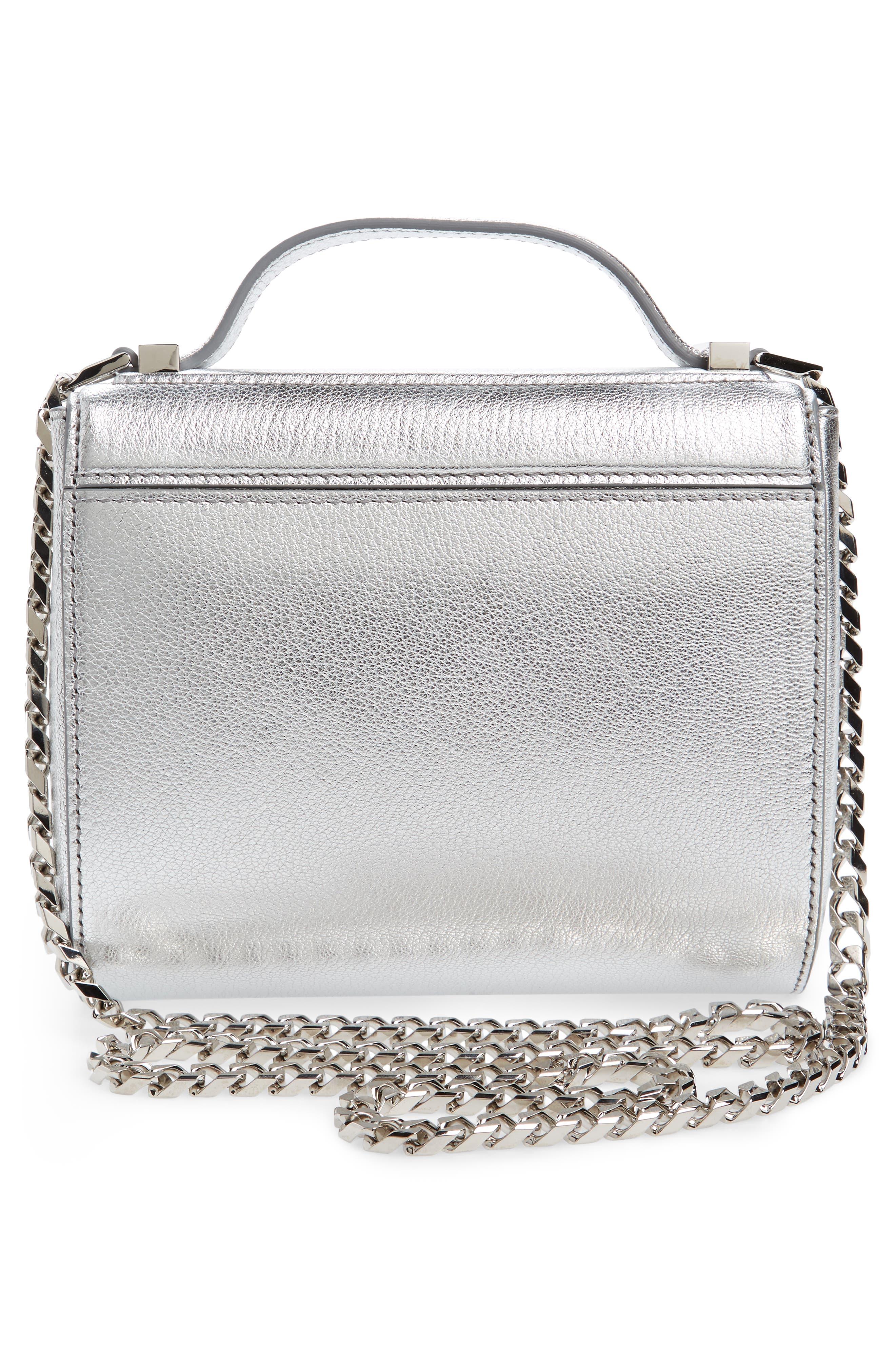 Alternate Image 2  - Givenchy Pandora Metallic Leather Satchel