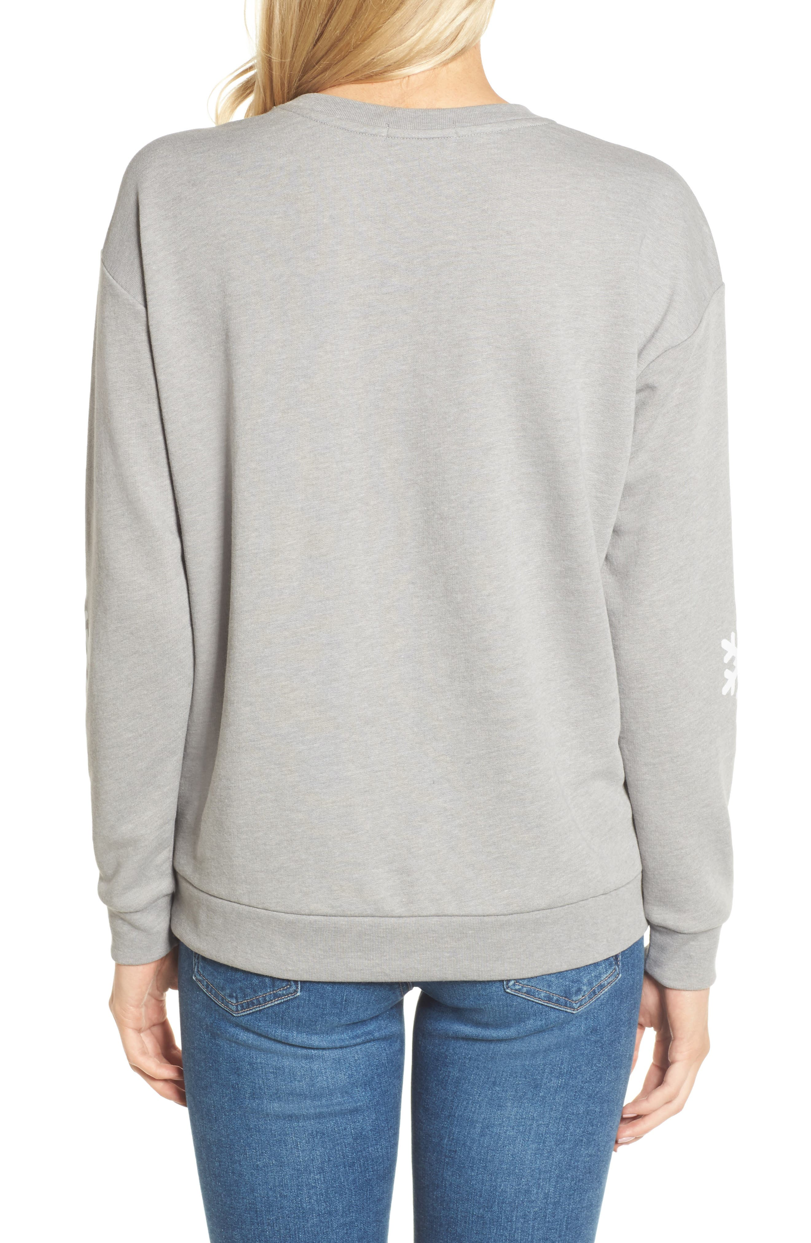Alternate Image 2  - South Parade Baby It's Cold Outside Sweatshirt