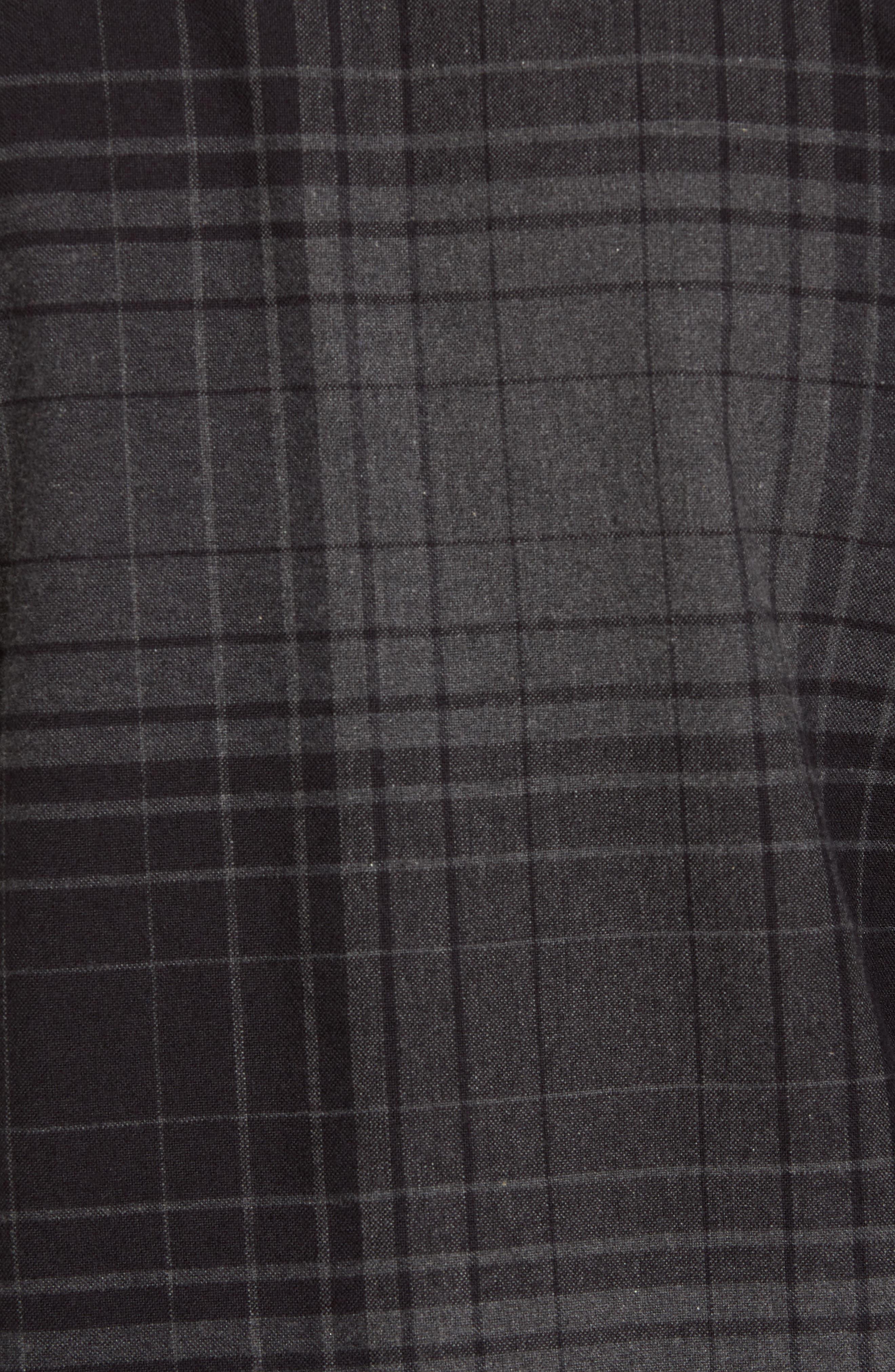 Lamar Shirt Jacket,                             Alternate thumbnail 5, color,                             Black