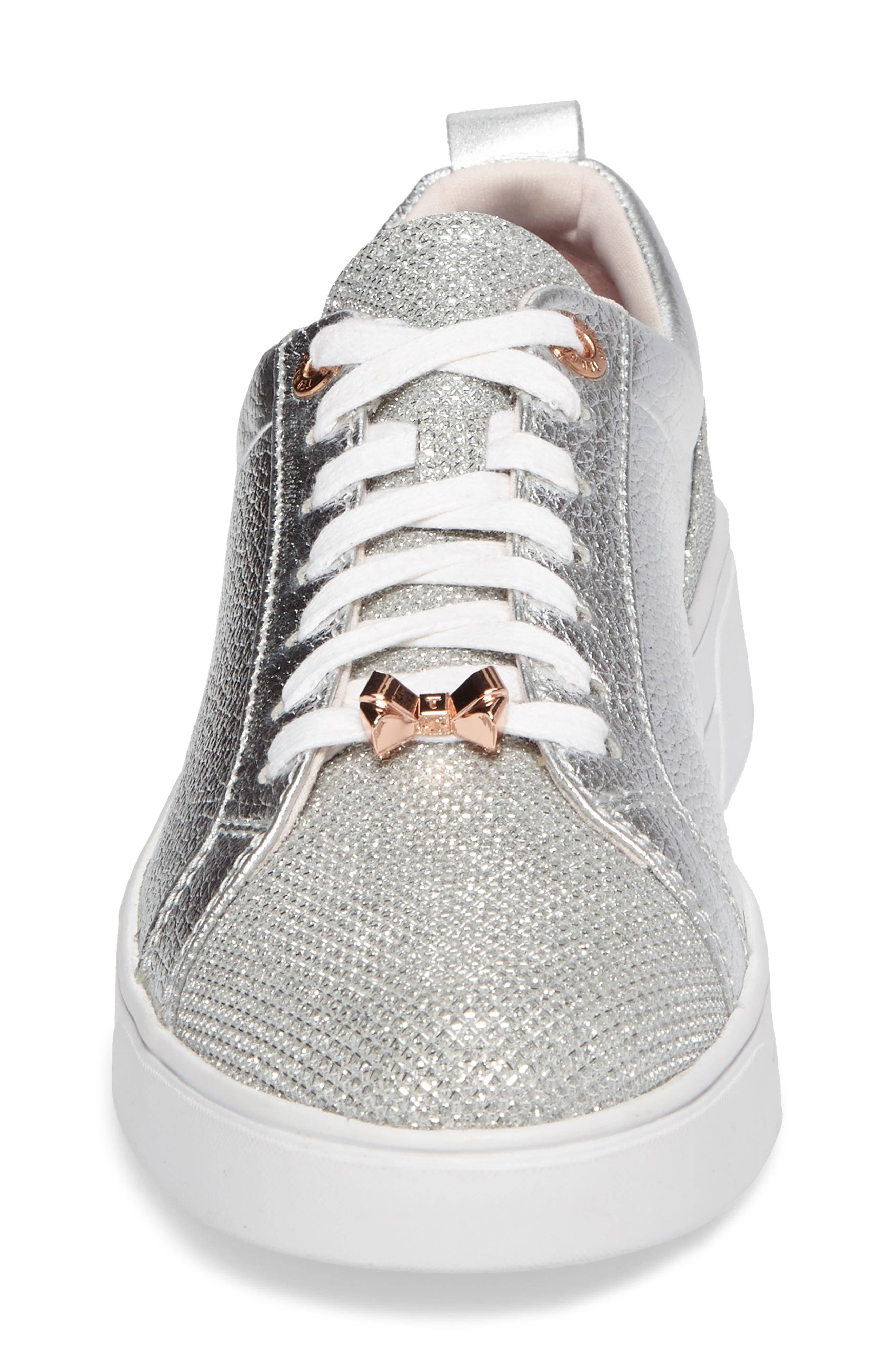 Kulei Sneaker,                             Alternate thumbnail 5, color,                             Silver Leather