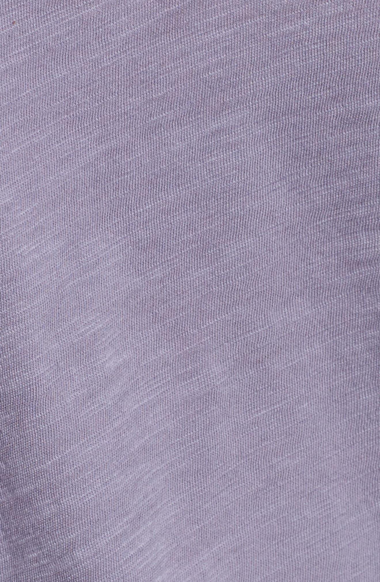 Alternate Image 5  - Madewell Whisper Cotton V-Neck Pocket Tee