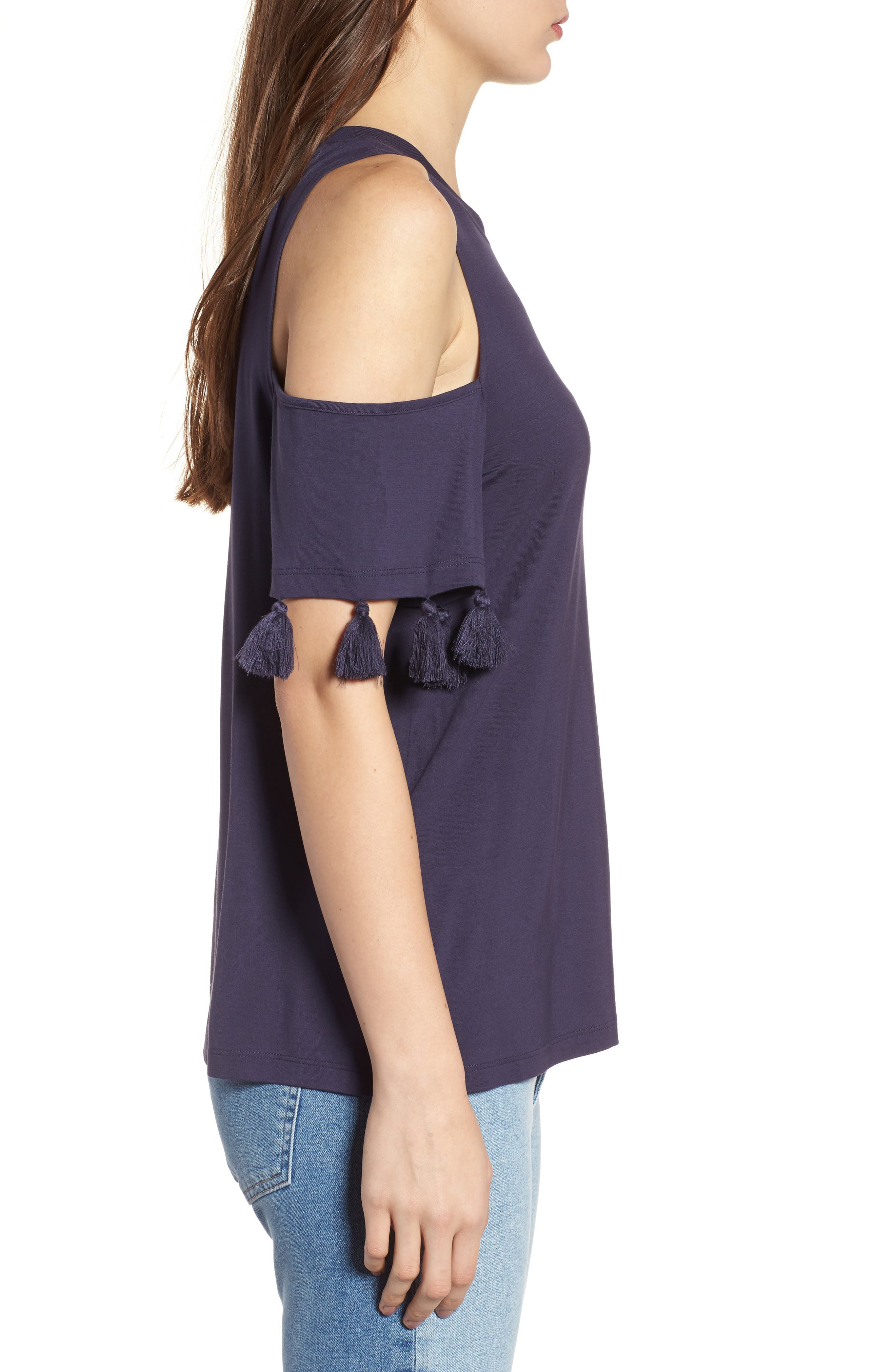 Alternate Image 3  - Rebecca Minkoff Theora Cold Shoulder Tee