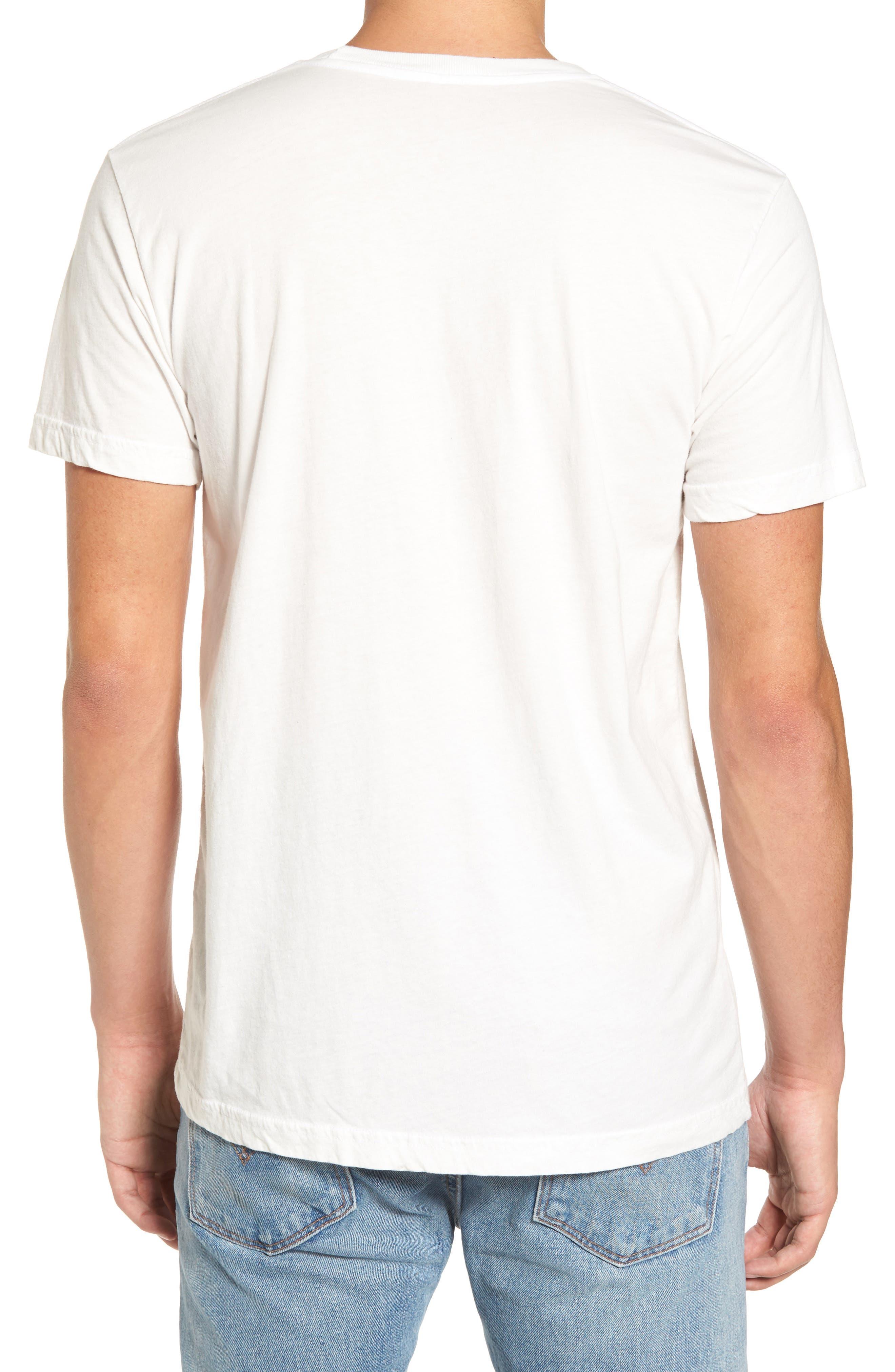 Kate Embroidered T-Shirt,                             Alternate thumbnail 2, color,                             White