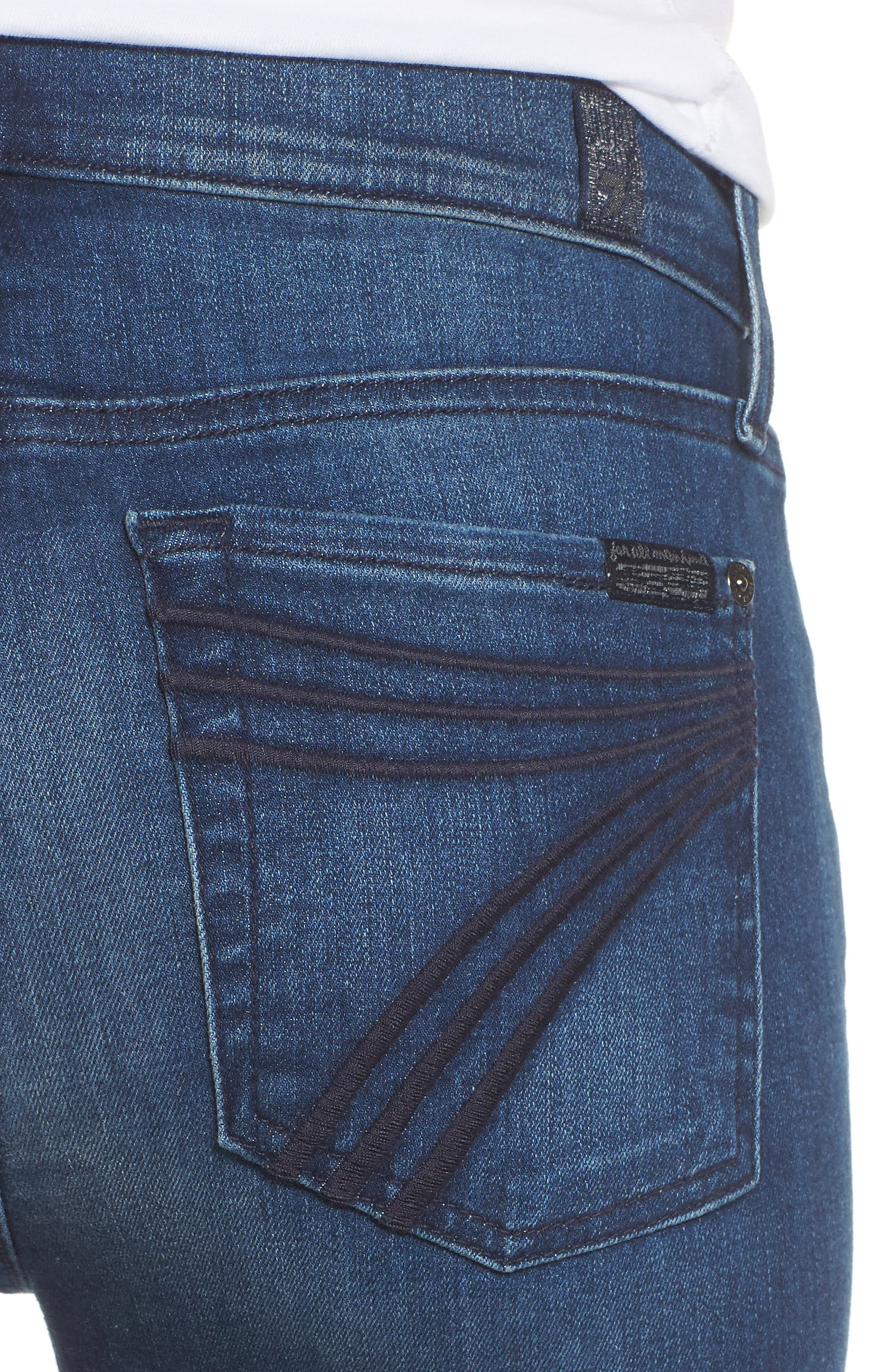 Alternate Image 4  - 7 For All Mankind® Dojo Wide Leg Jeans (Bella Heritage)
