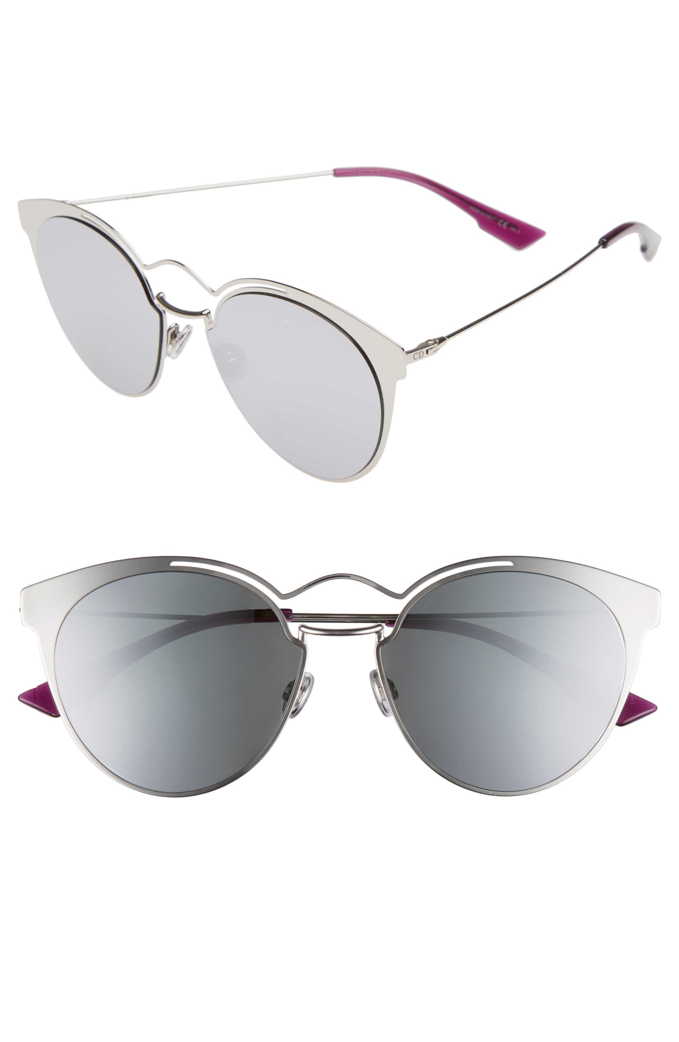 Nebuls 54mm Sunglasses,                         Main,                         color, Palladium