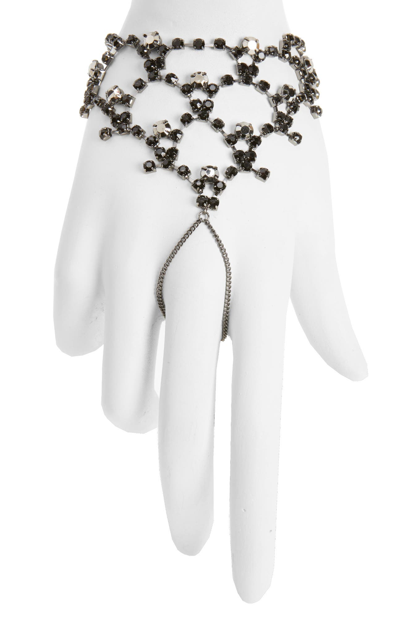 Mystical Stone Hand Chain,                         Main,                         color, Haematite